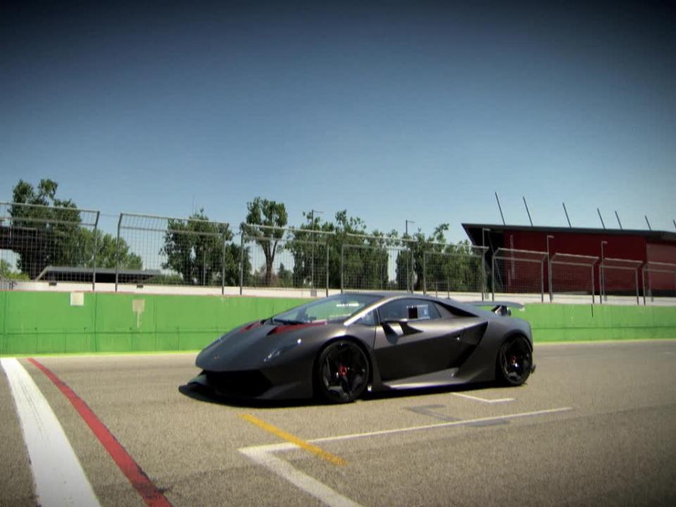Top Gear Magazine Richard Hammond Drives The Lambo Sesto Elemento