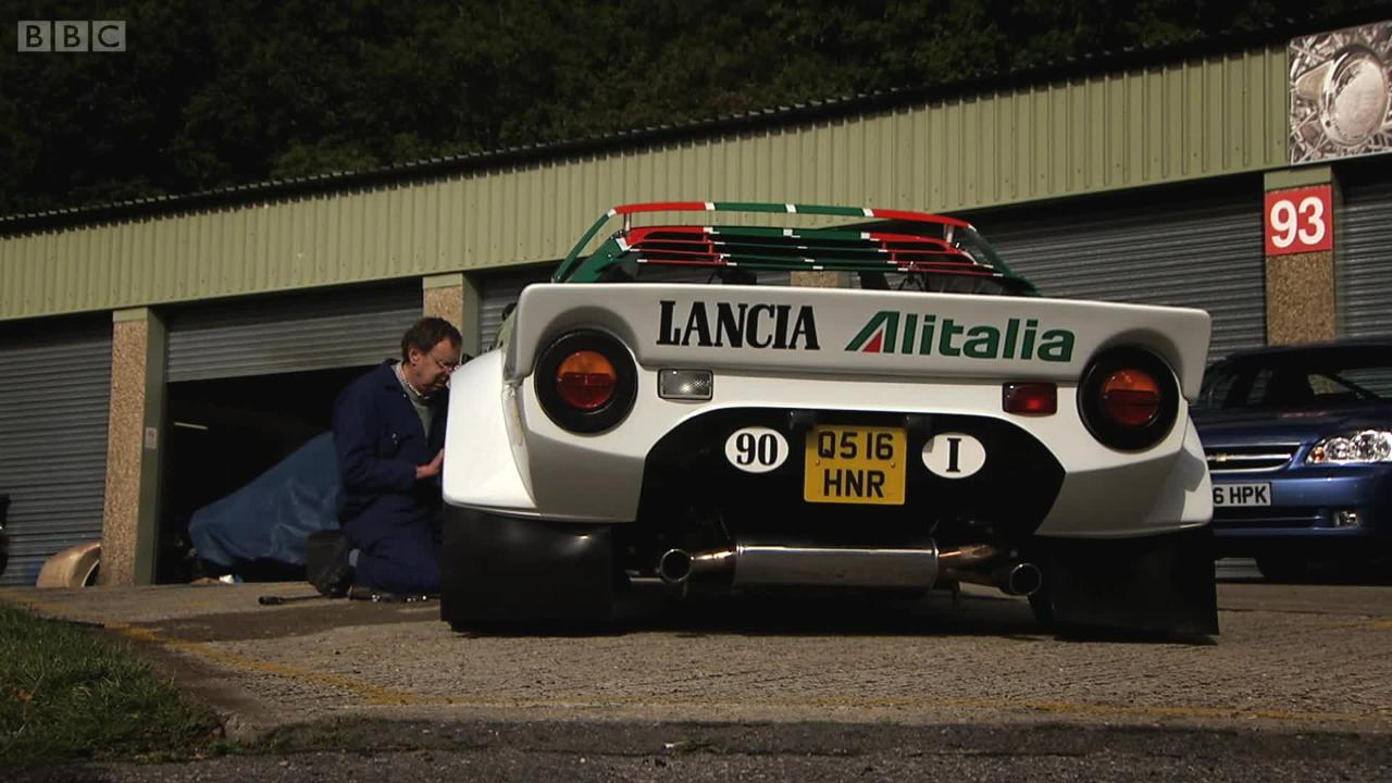 Diy Lancia Stratos Series 14 Episode 3 Top Gear