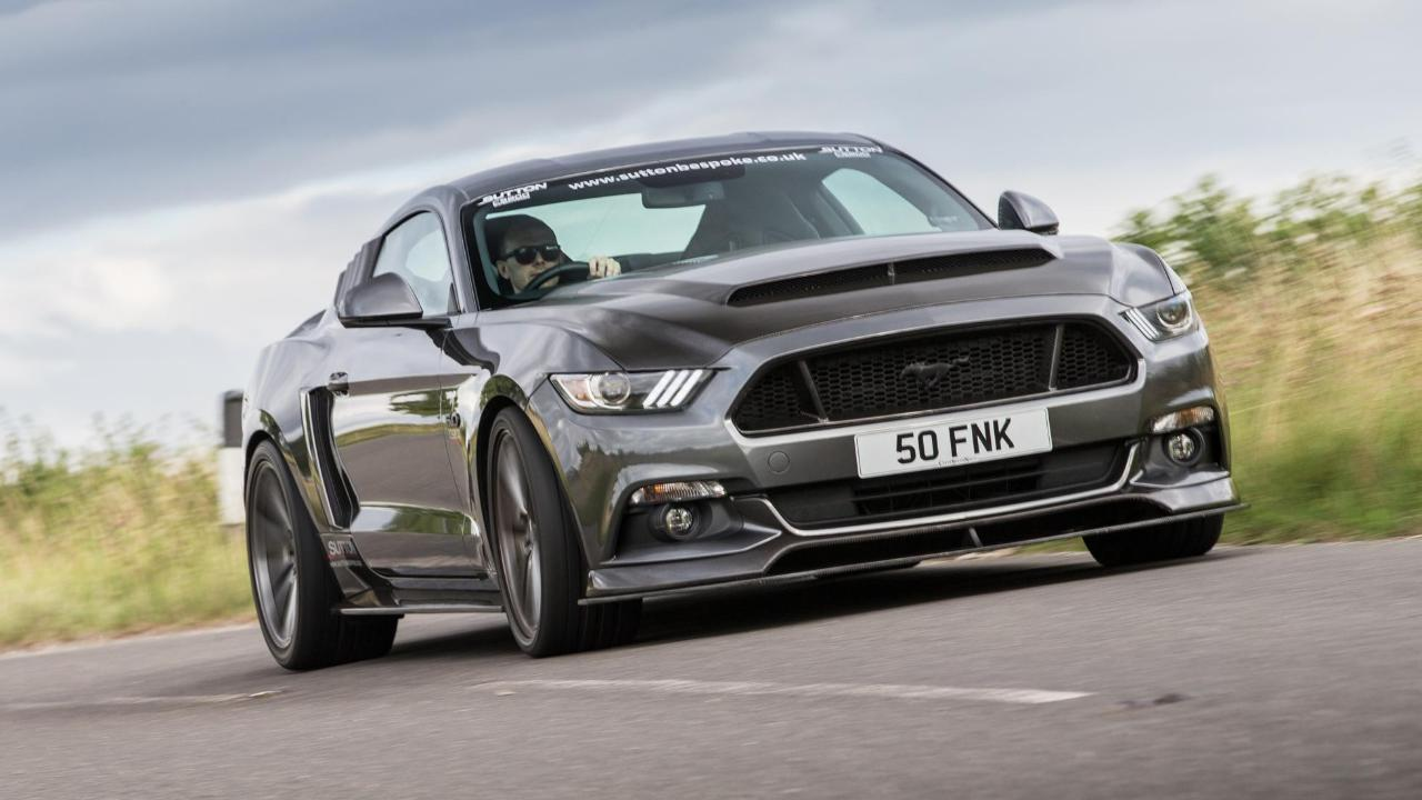 Listen to the 825bhp Sutton Ford Mustang | Top Gear