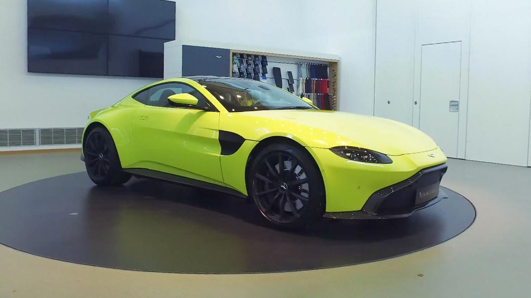 Take A Closer Look At The New Aston Martin Vantage Top Gear