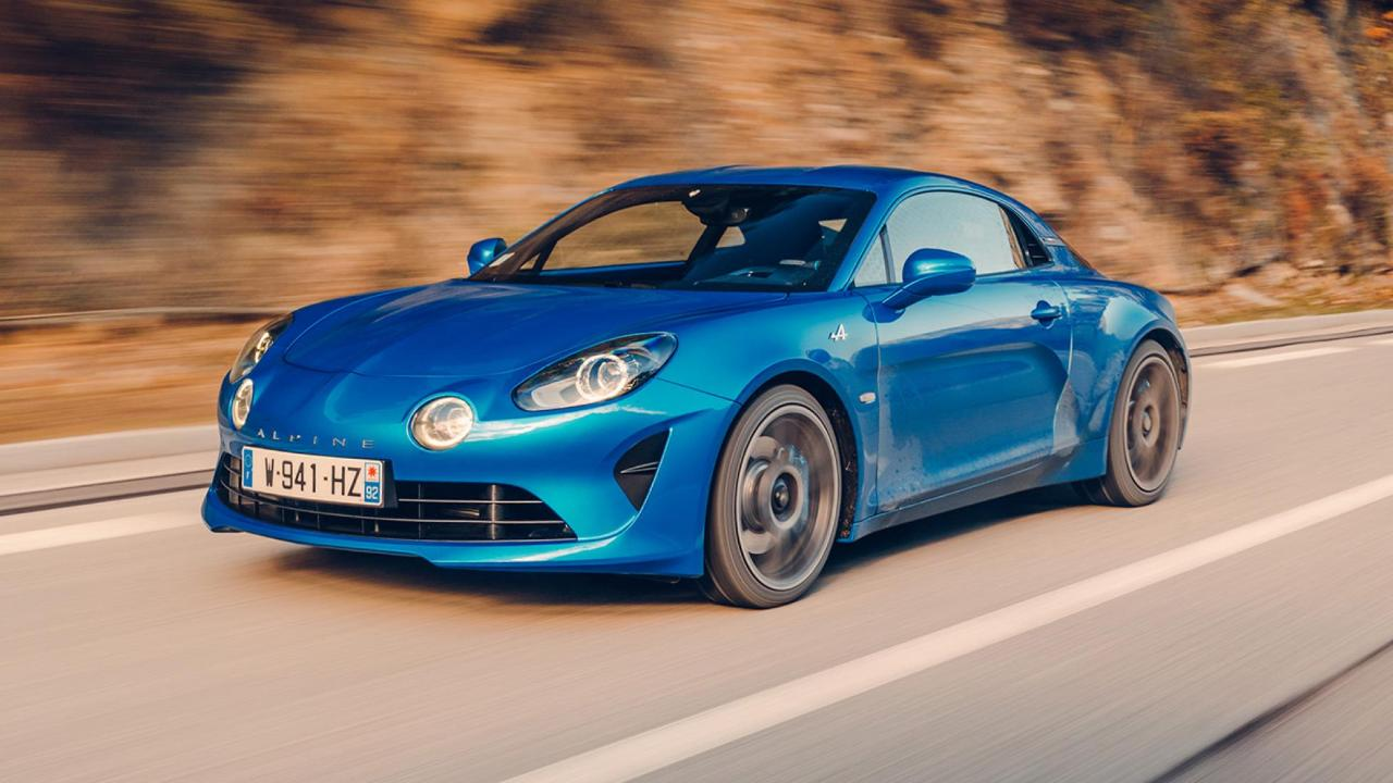 Video Alpine A110 Vs Monte Carlo Rally Stage