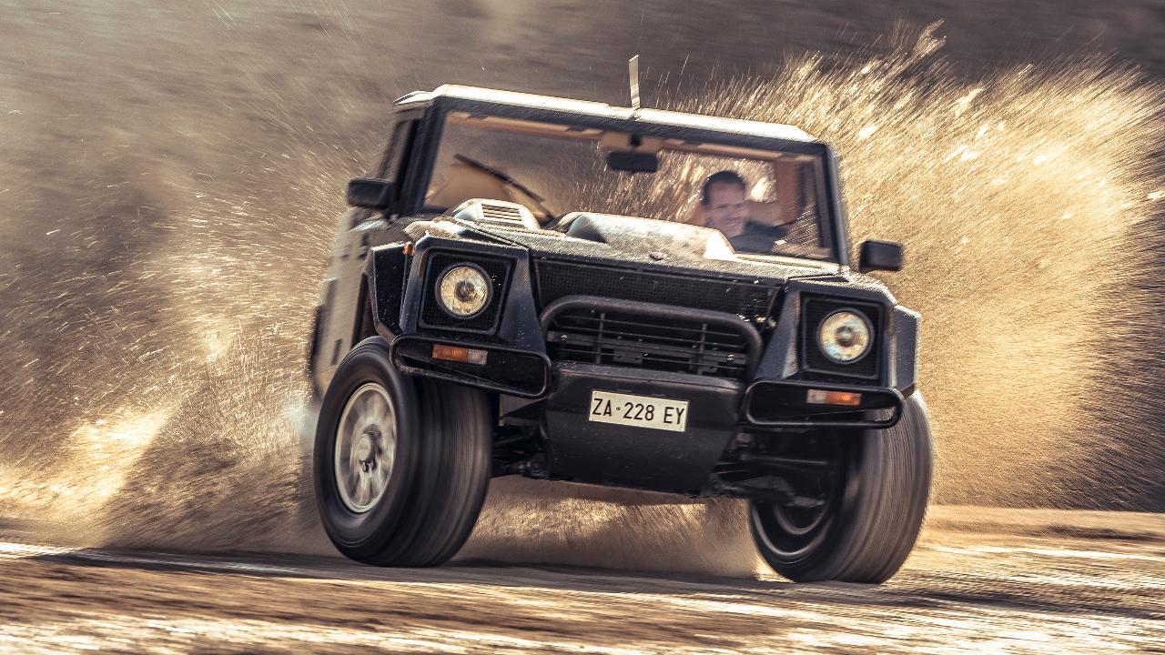 Video Review Lamborghini Lm002 The Rambo Lambo Top Gear