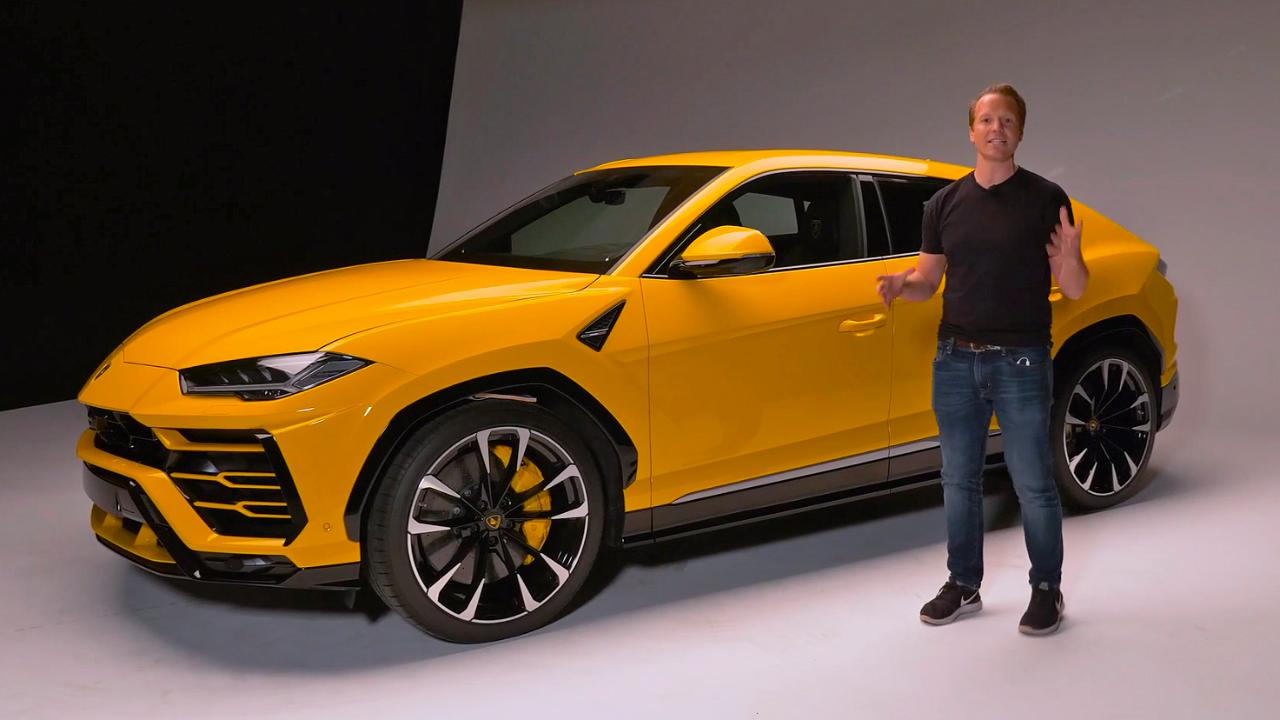 Everything You Need To Know About The Lambo Urus Top Gear