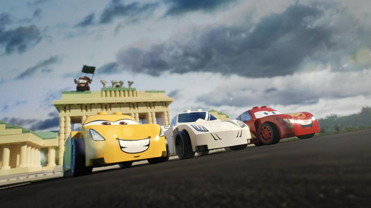 Watch Lightning Mcqueen Vs The Stig In Lego Top Gear