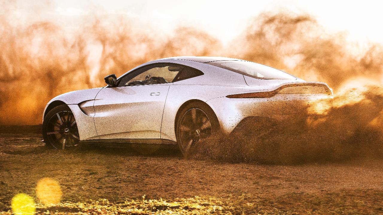 Video The New Aston Martin Vantage Tested In Morocco Top Gear - Aston martin pictures