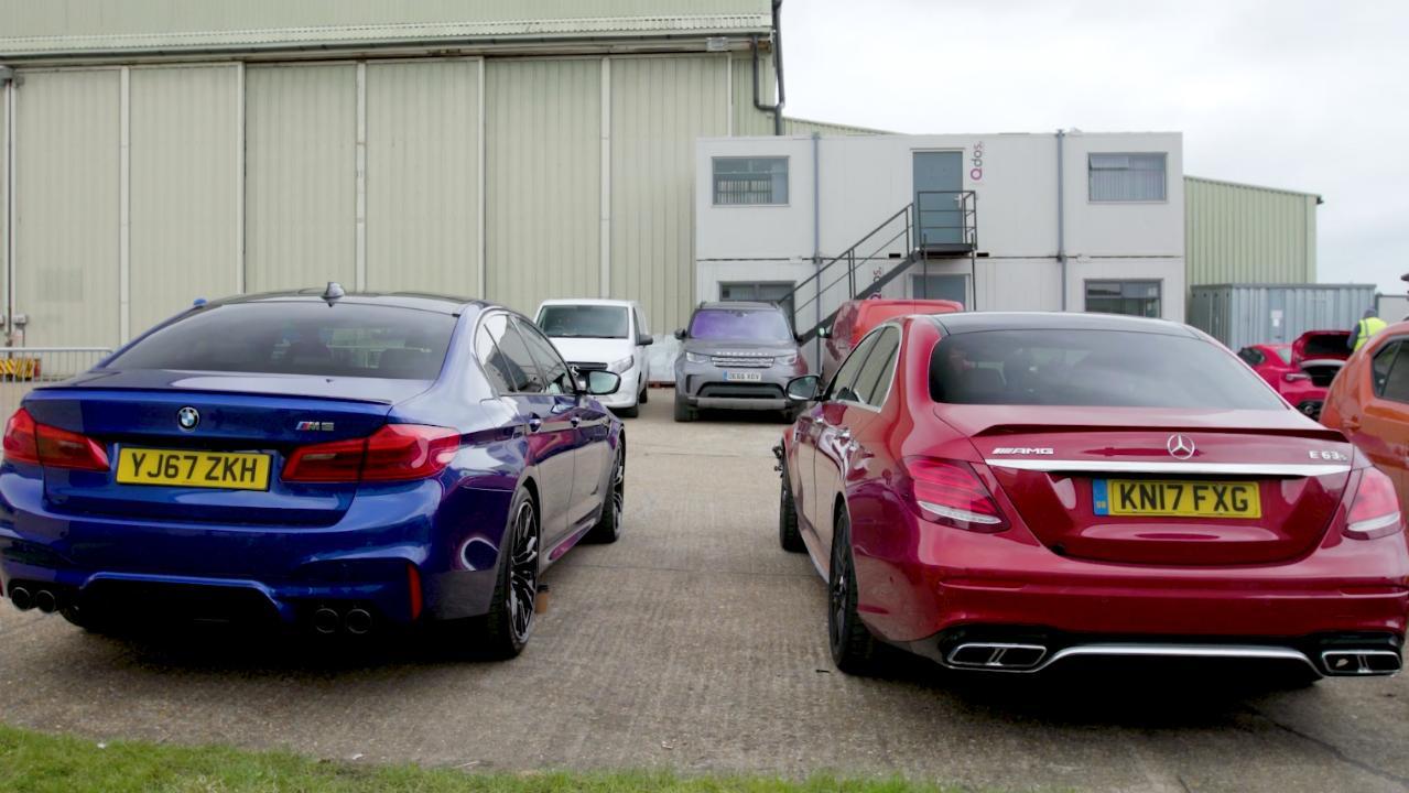 BMW M5 or Mercedes-AMG E63 S? Chris Harris explains   Top Gear
