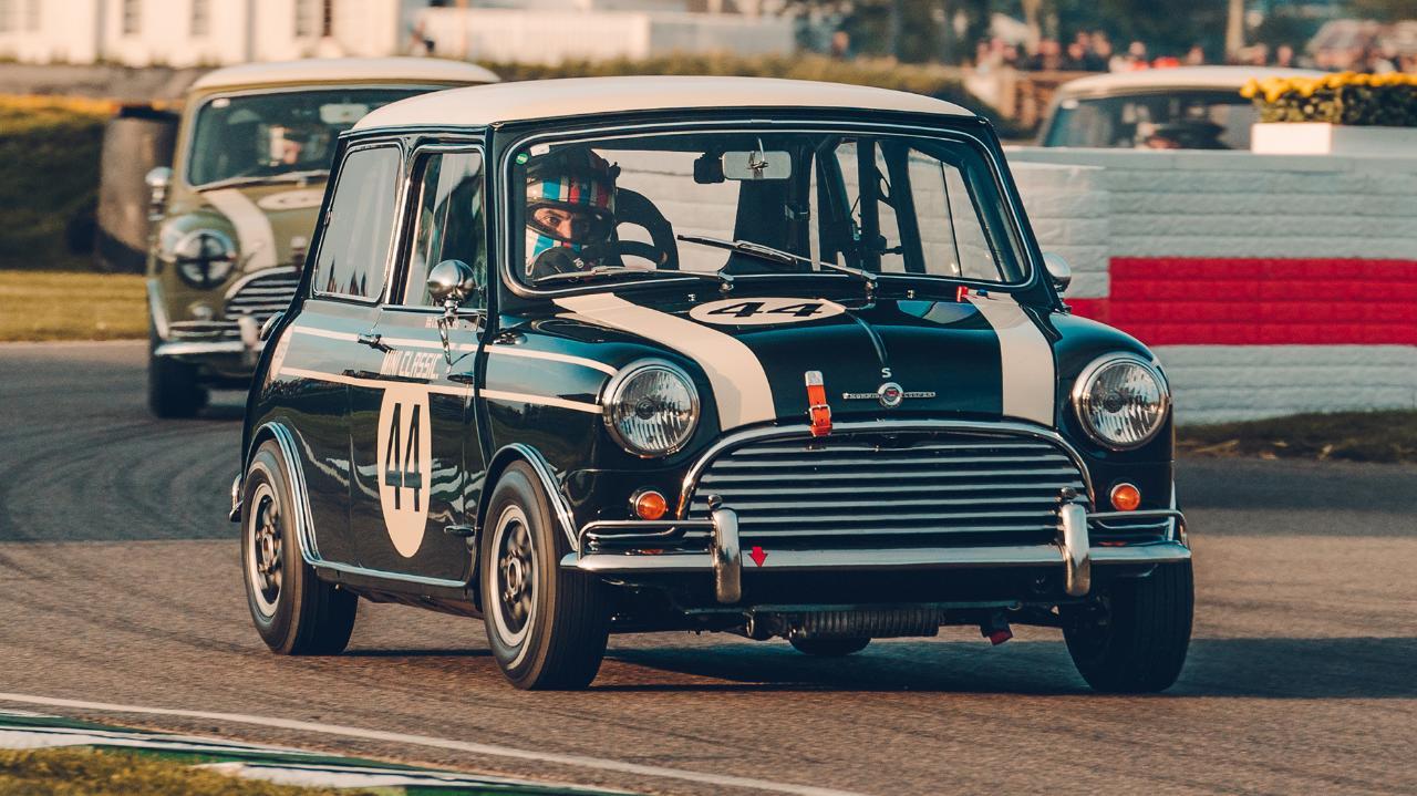 Chris Harris Drives Racing A Mini Cooper S At Goodwood Top Gear