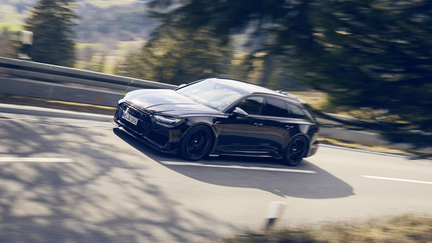 Modified Audi RS6 With 789bhp