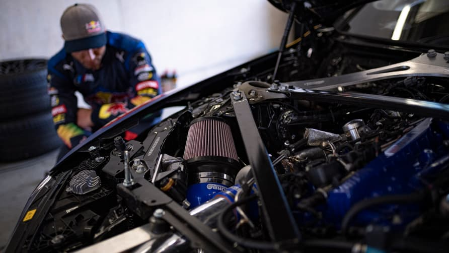 Each of these BMW M4 Competition drift vehicles has 1,035 horsepower