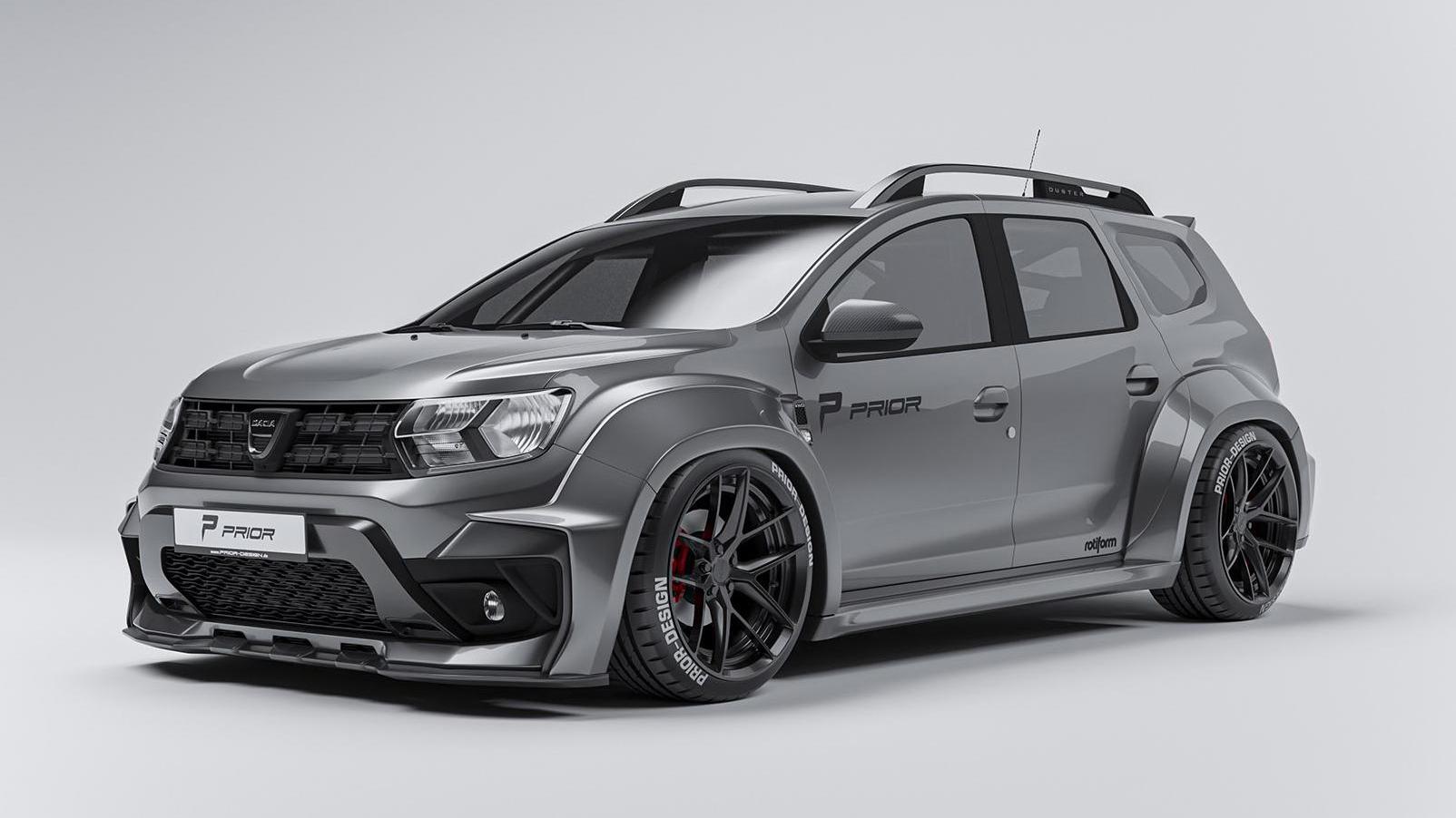 Dacia Duster Widebody Top Gear