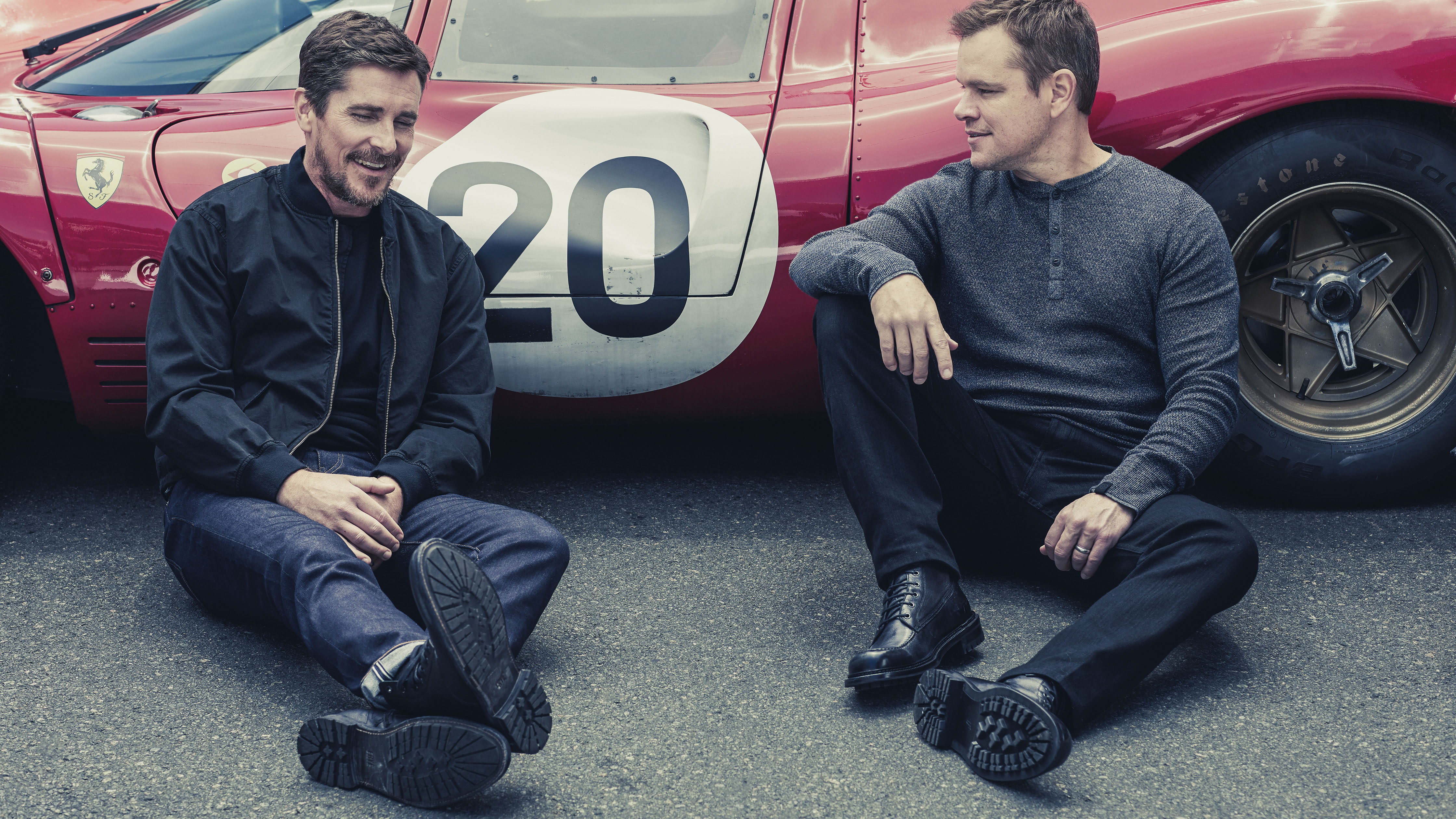 Interview Christian Bale And Matt Damon On Ford Vs Ferrari Top Gear