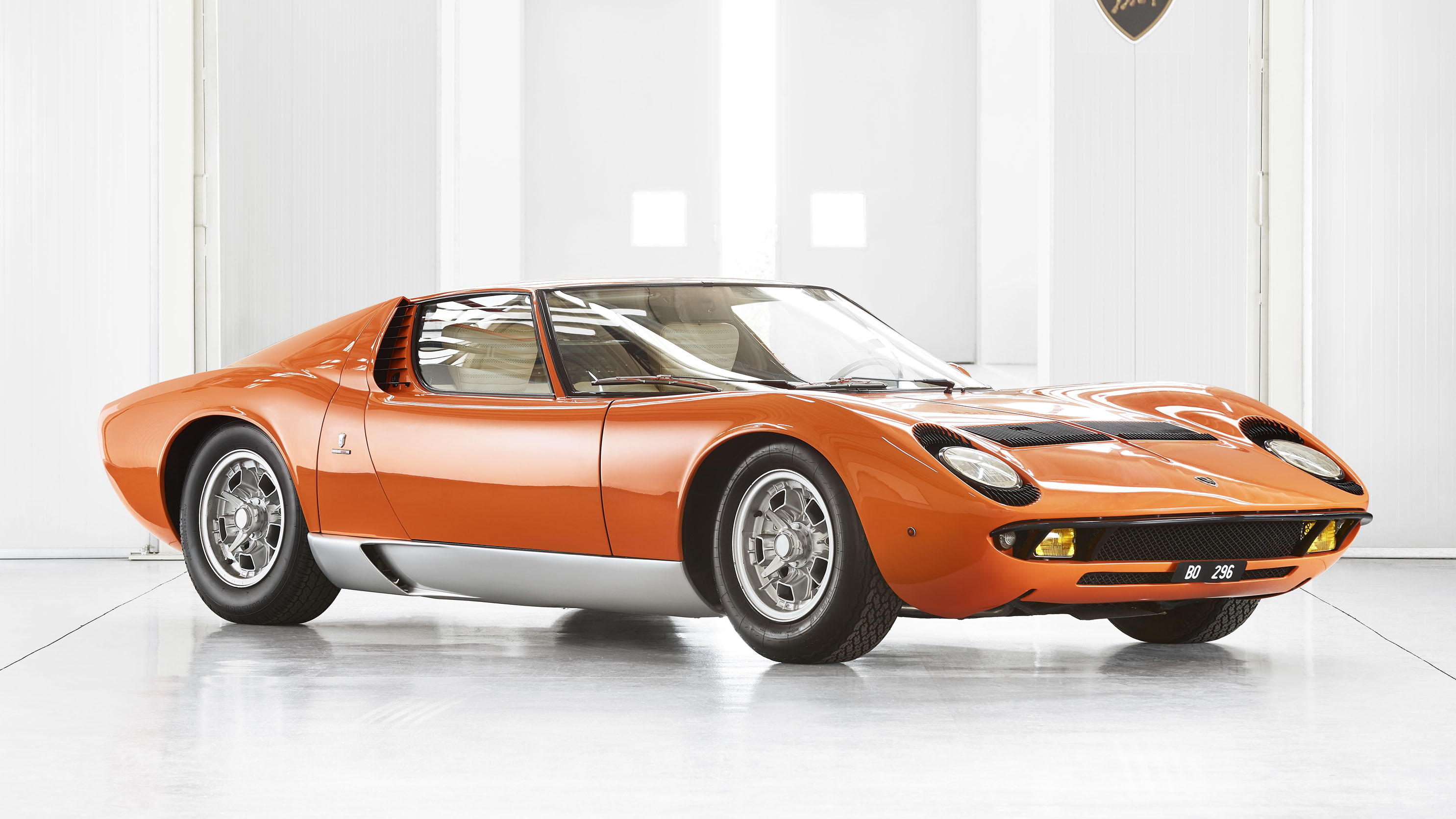 The Lambo Miura is so special it's got its own Concours class