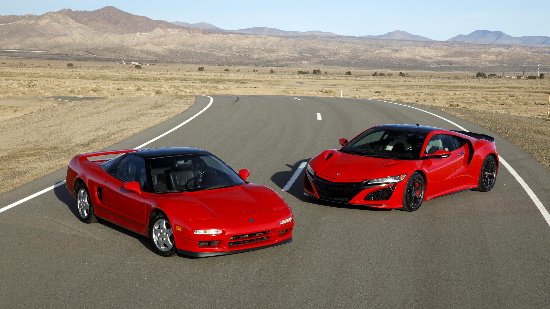 Old Honda Nsx Or New Honda Nsx Top Gear