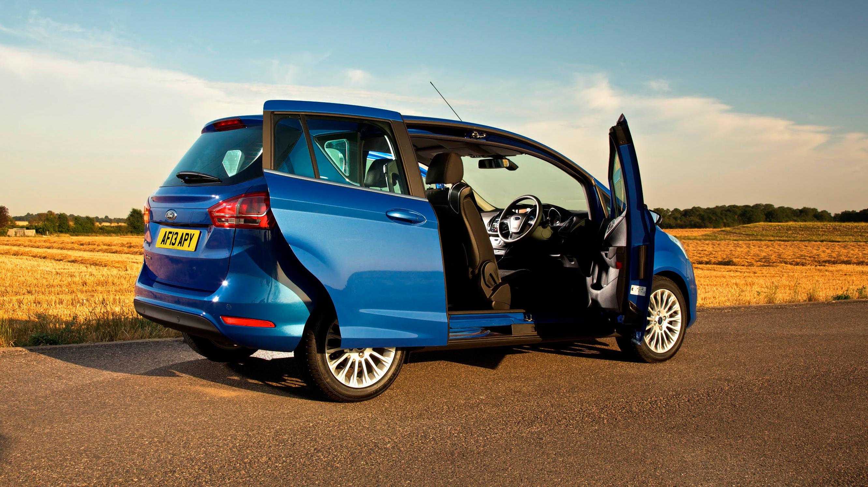 Ford B-Max blue rear quarter