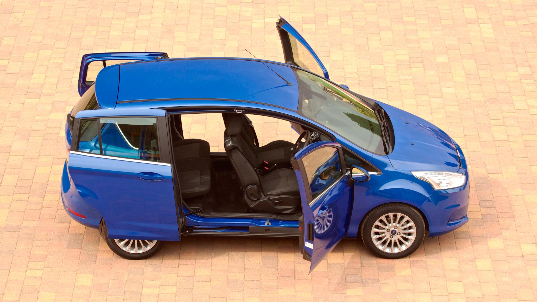 Ford B-Max blue side