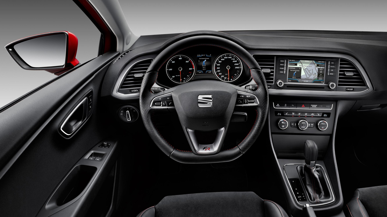 Seat Leon interior drivers seat