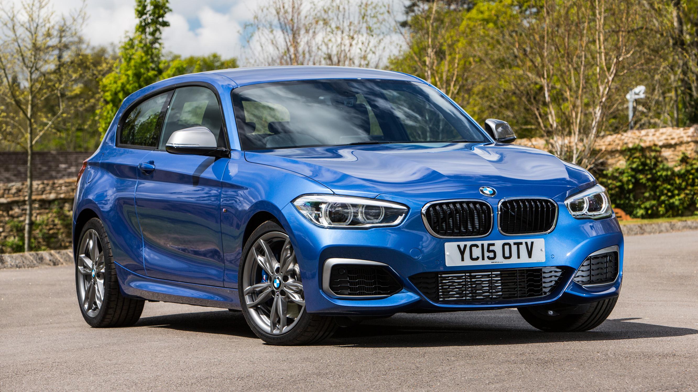 BMW M135i blue front