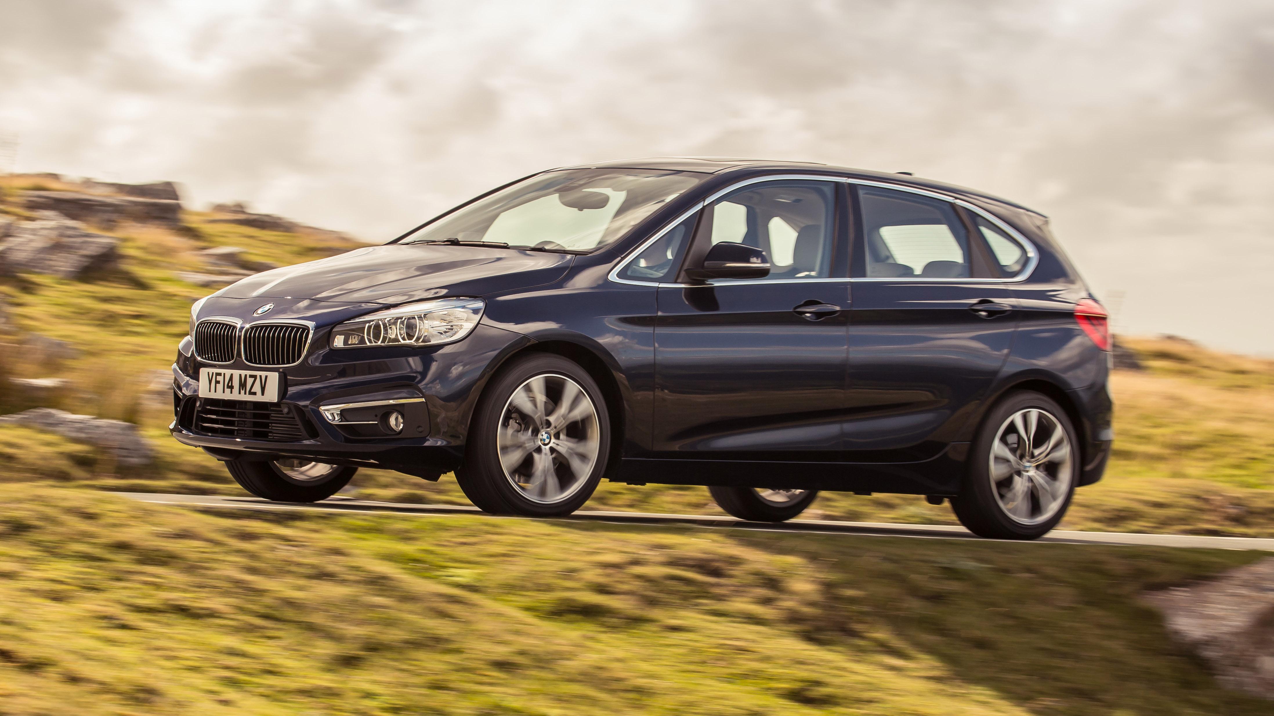 BMW 2 Series Gran Tourer front quarter