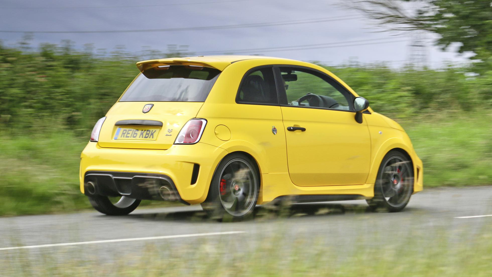 Abarth 500 rear quarter