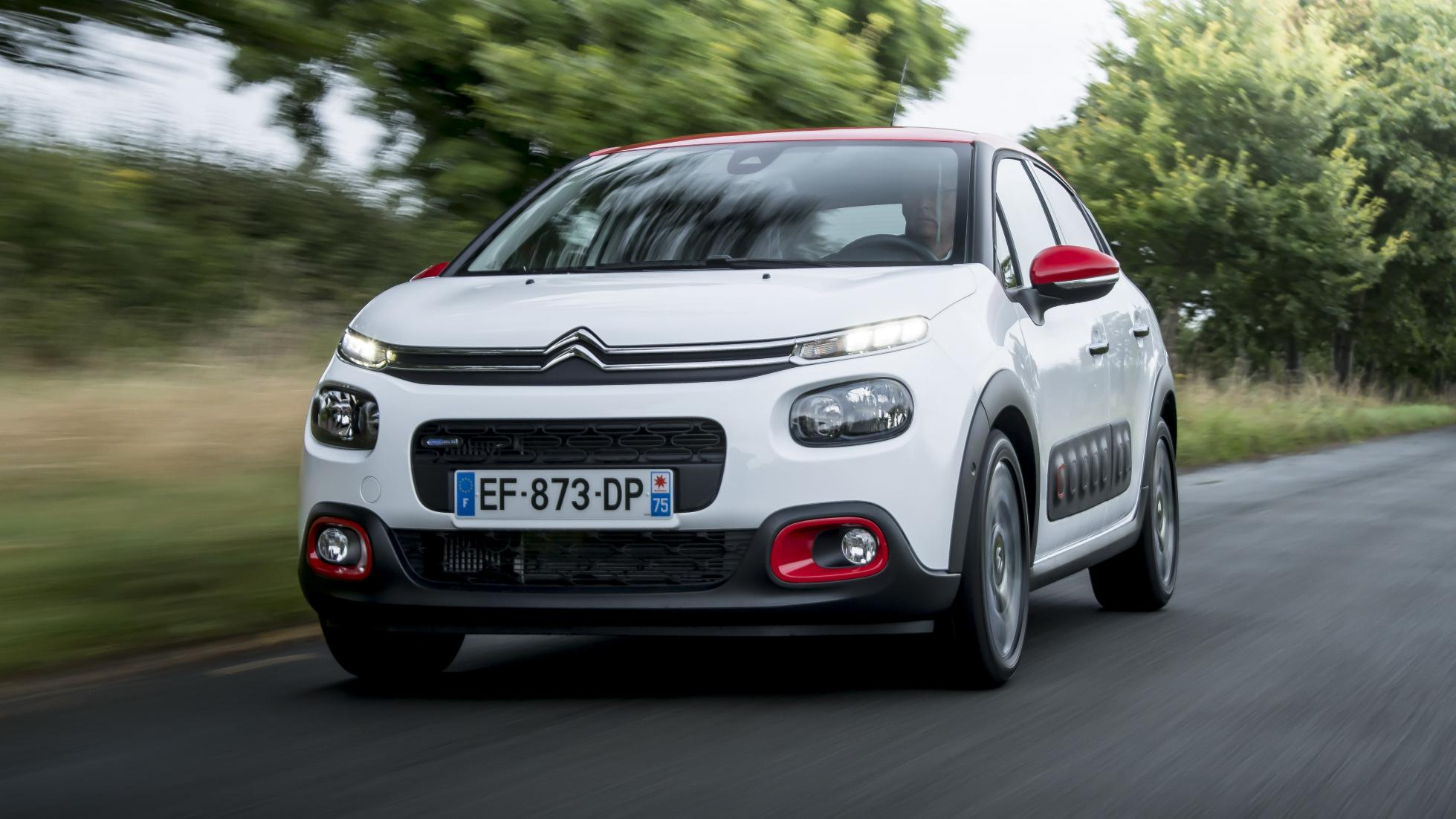 2017 citroen c3 review top gear. Black Bedroom Furniture Sets. Home Design Ideas