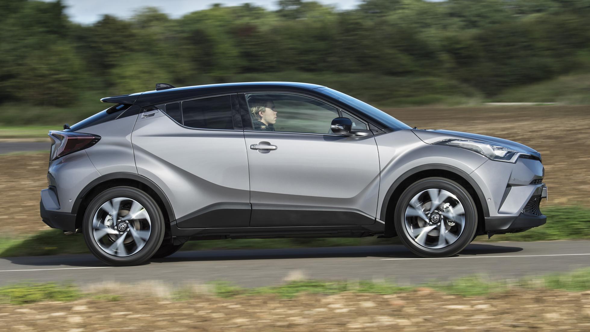 Toyota C-HR side