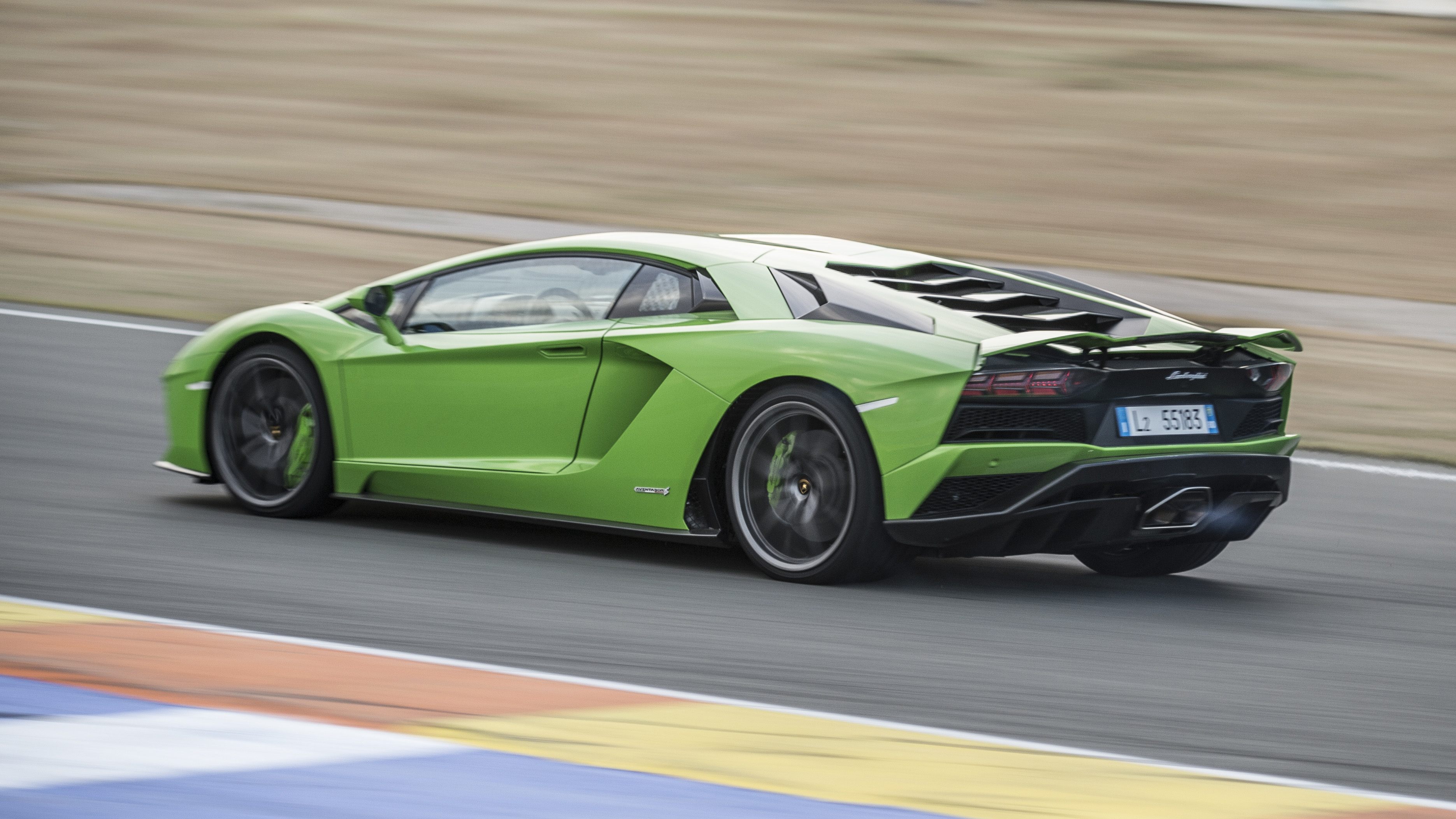 Lamborghini Aventador S rear quarter