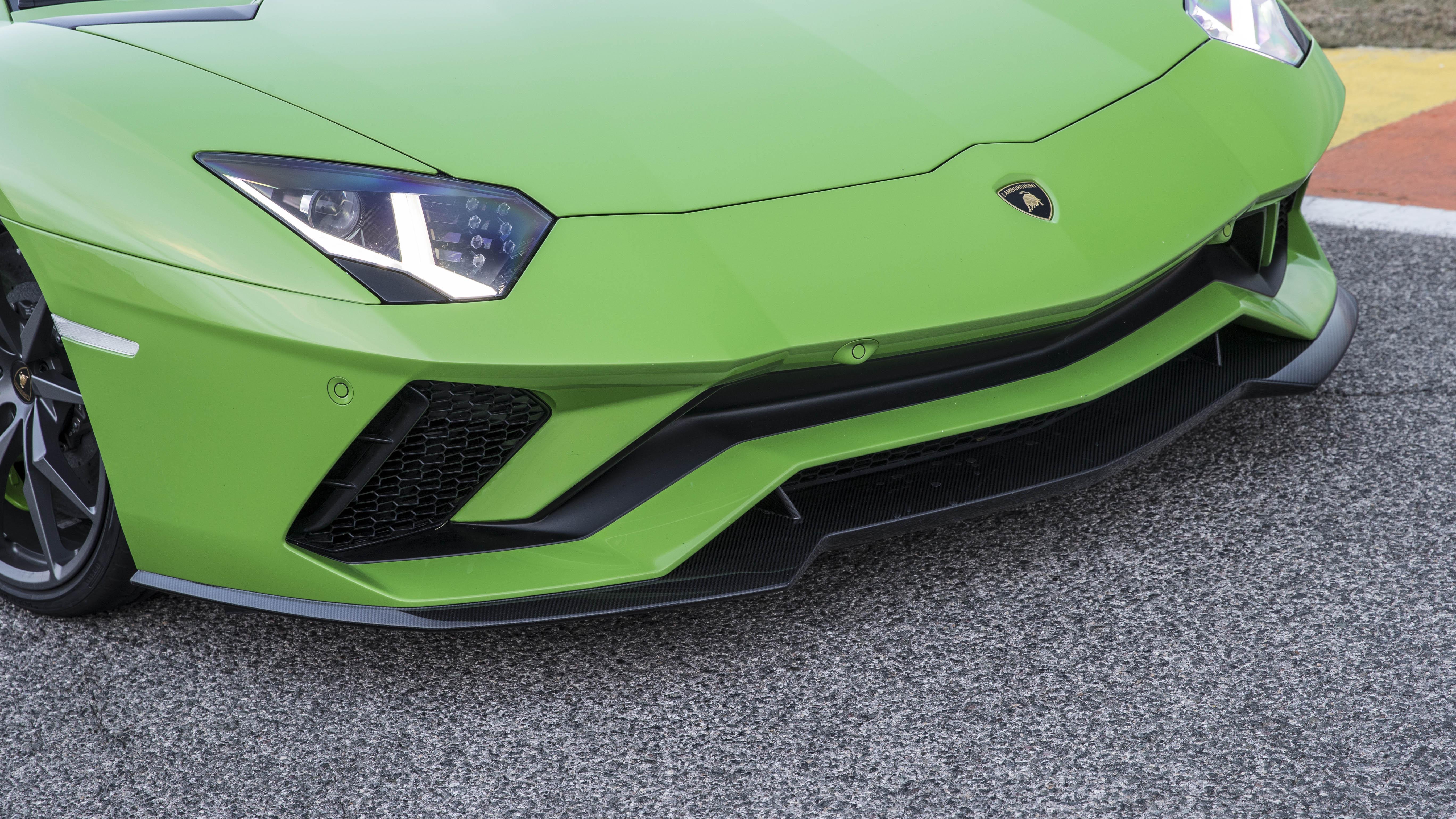 Lamborghini Aventador S front