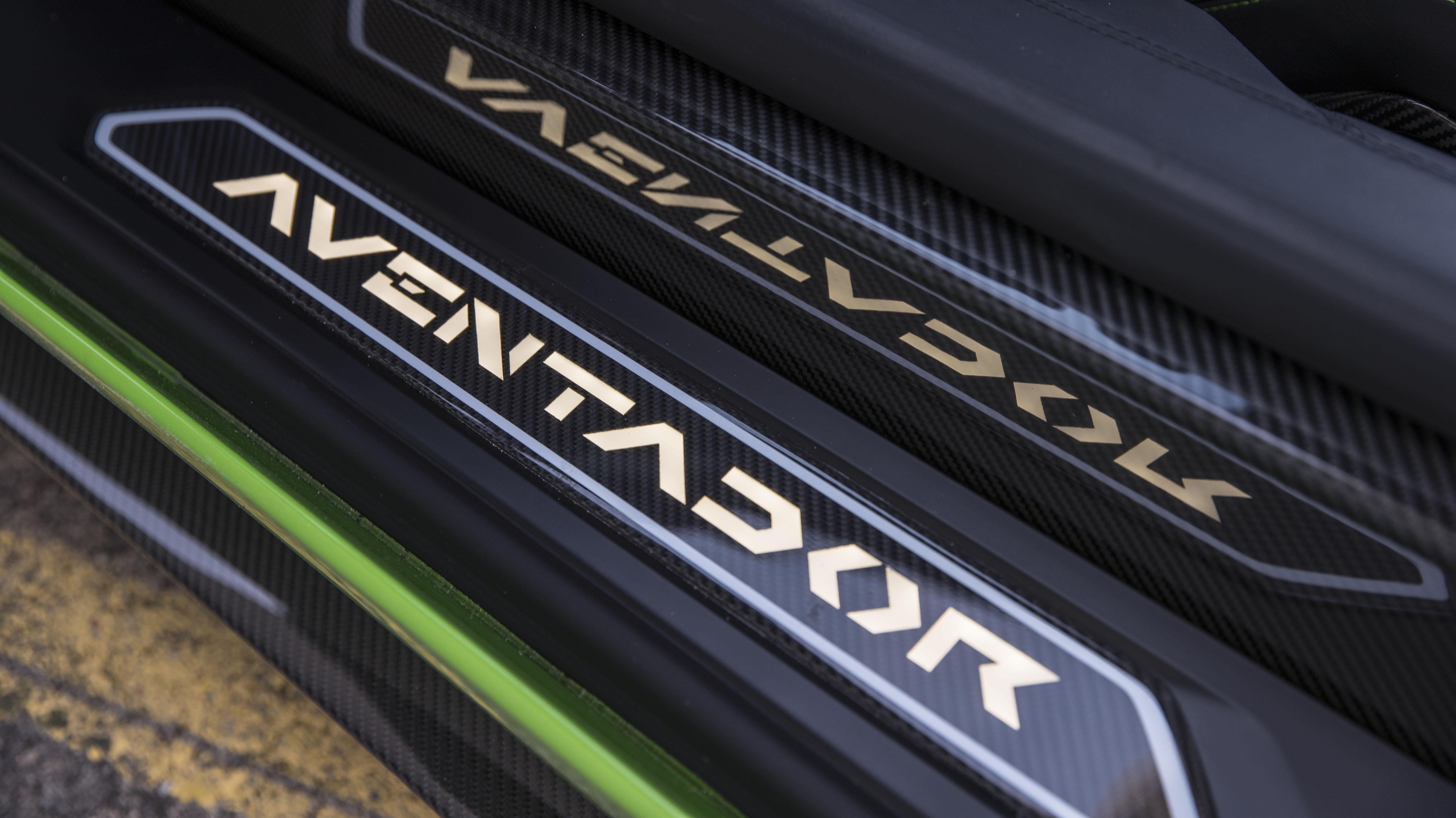 Lamborghini Aventador S door sils