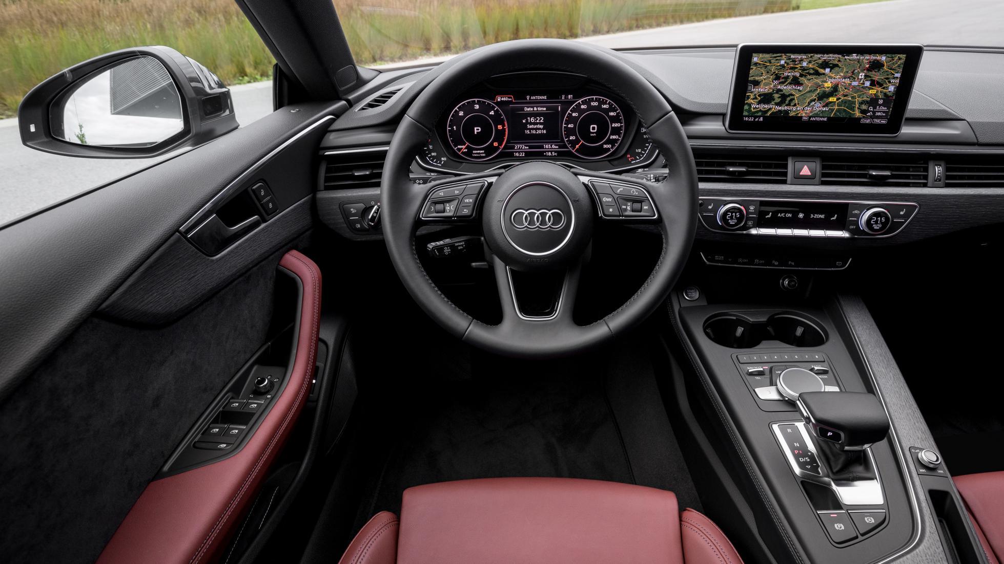 Audi A5 Sportback interior driver's seat