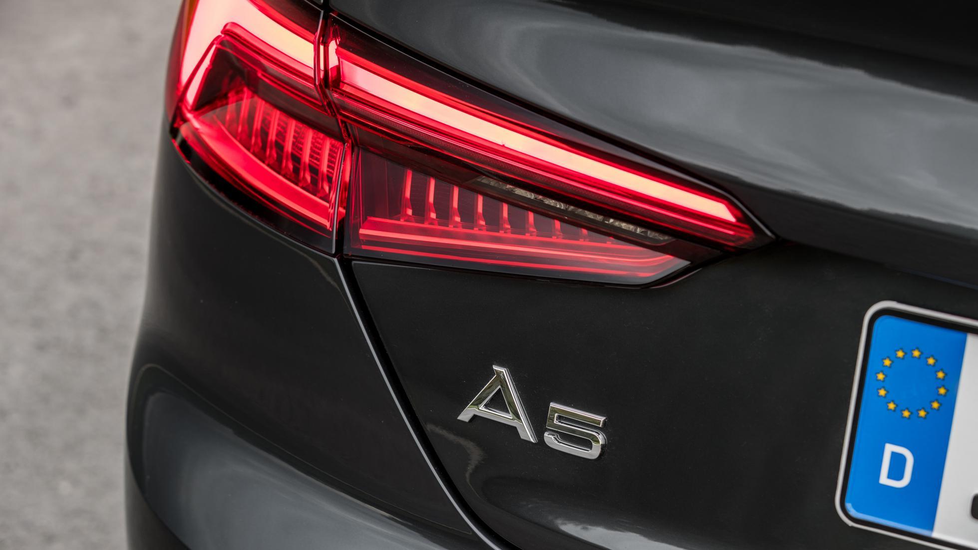 Audi A5 Sportback rear led lights
