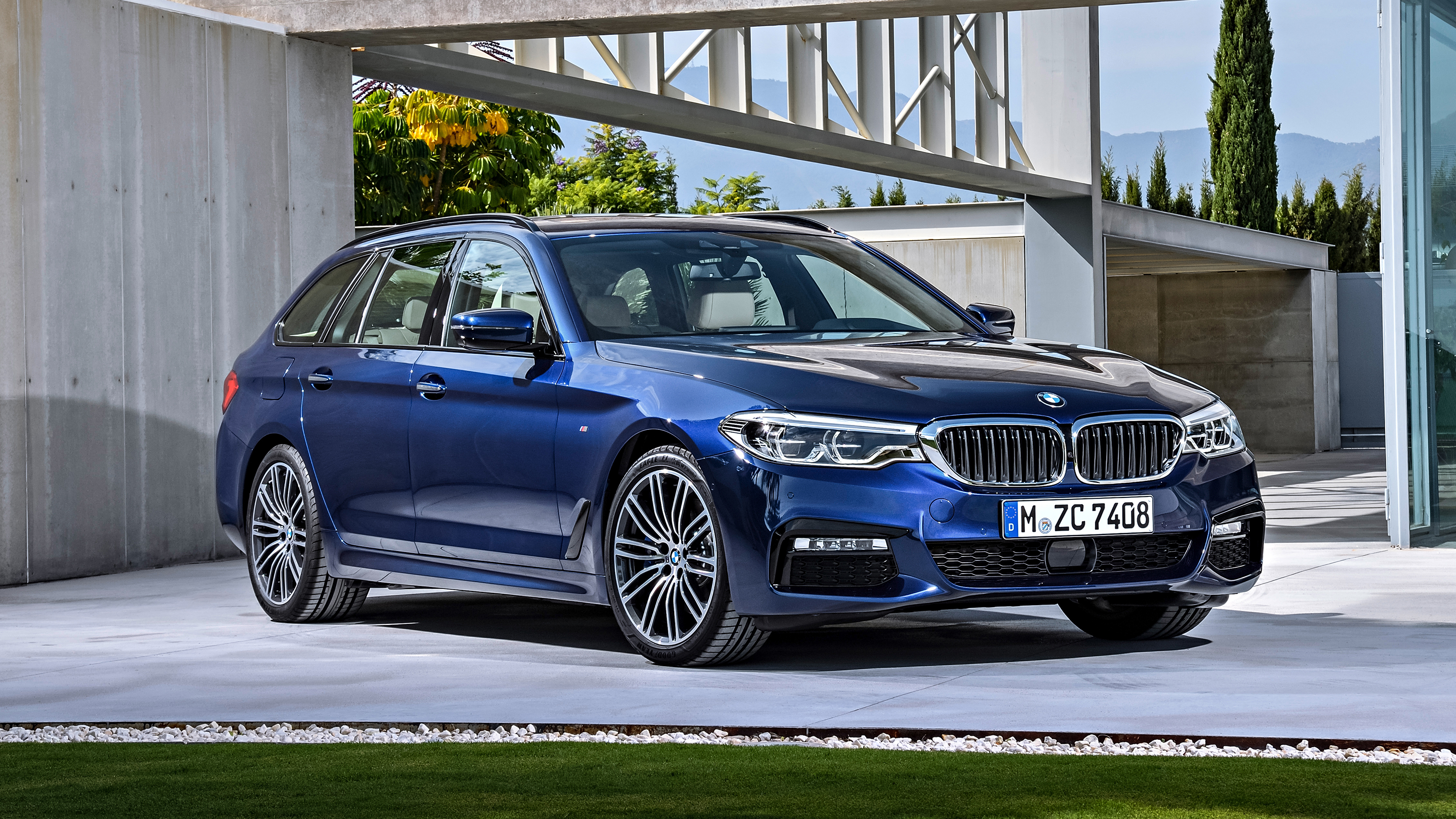 2018 bmw 5 series touring review top gear. Black Bedroom Furniture Sets. Home Design Ideas