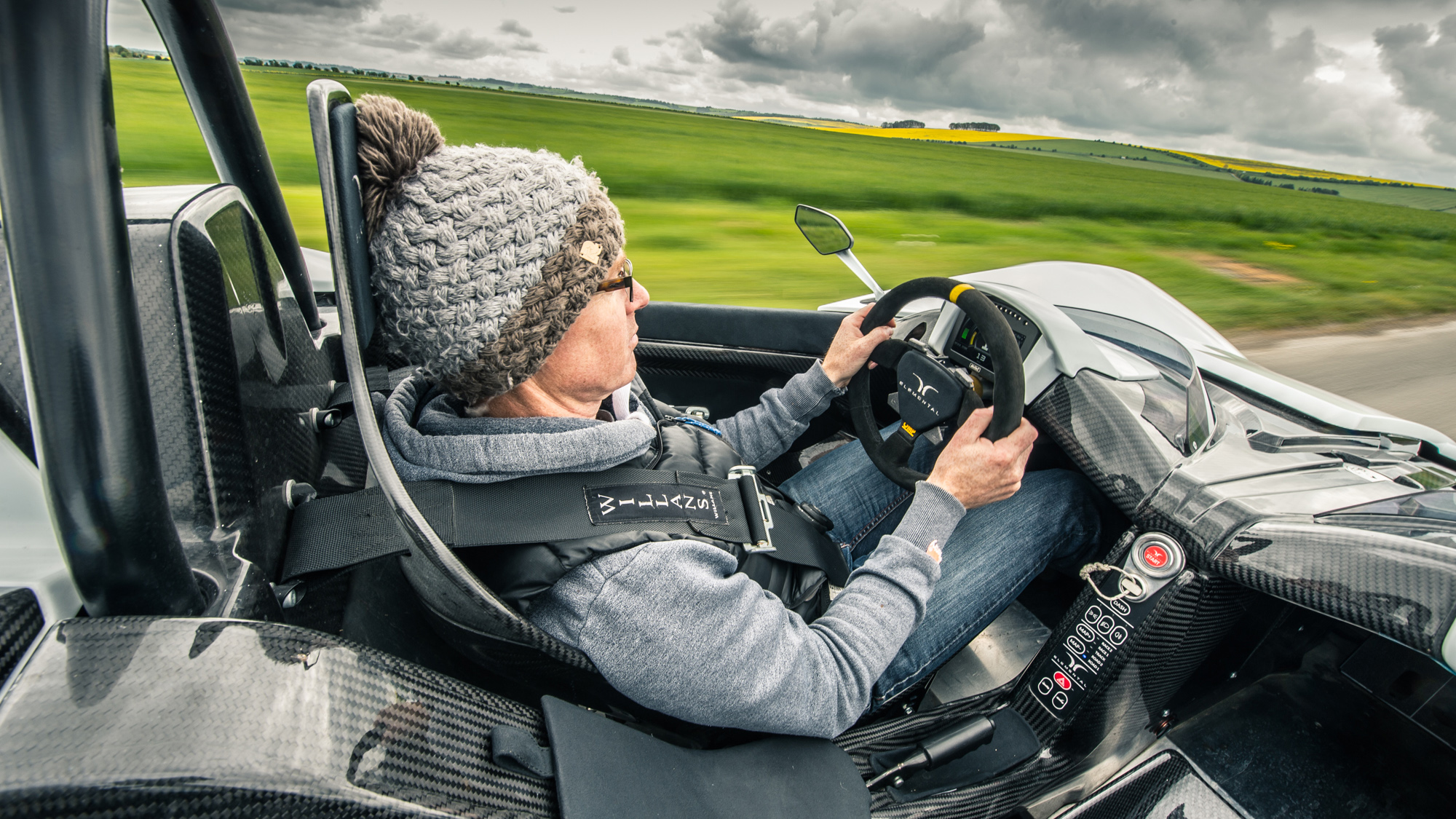 Elemental RP1 driving position