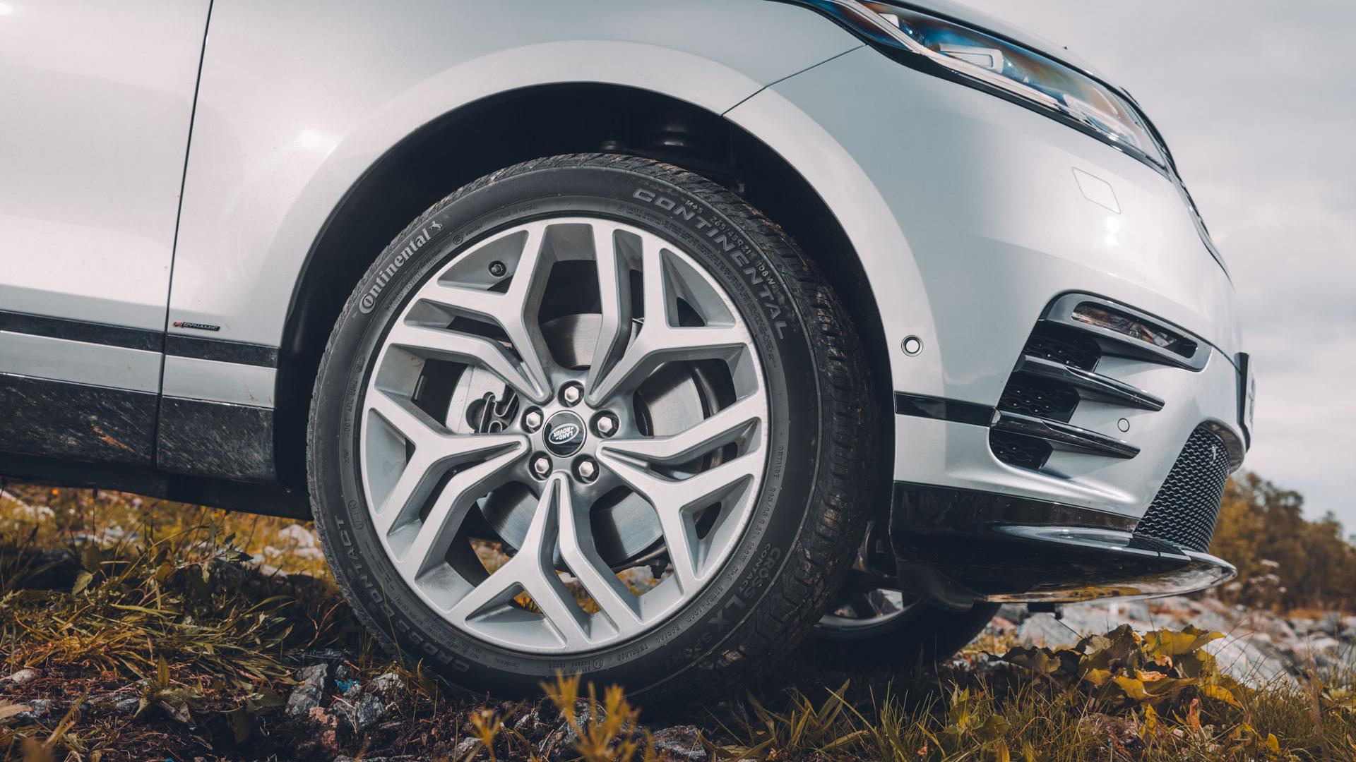Land Rover Range Rover Velar front wheels