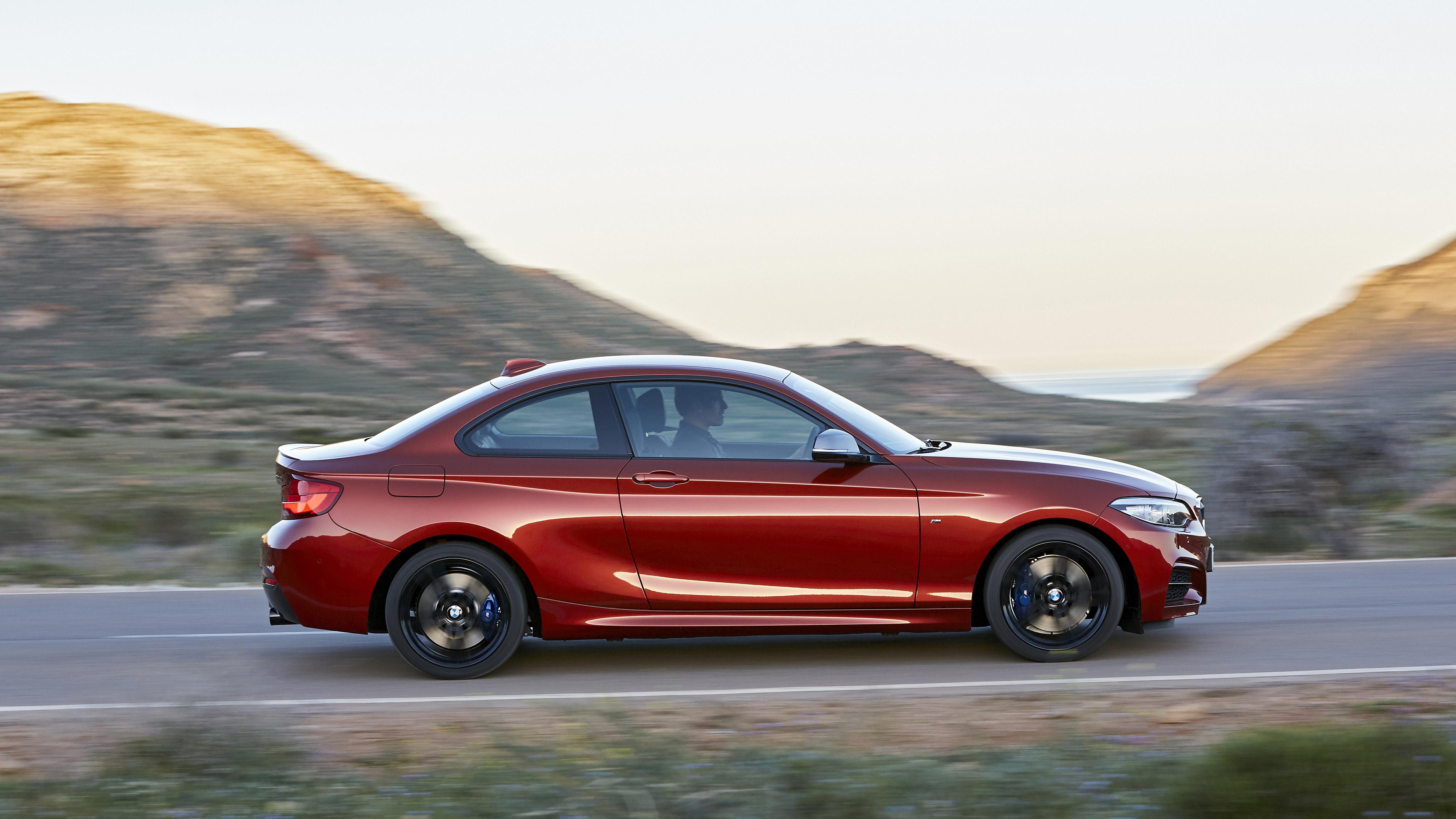 BMW 2 Series side