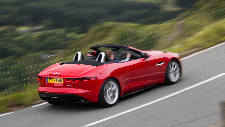 jaguar f type convertible review 2017 top gear. Black Bedroom Furniture Sets. Home Design Ideas