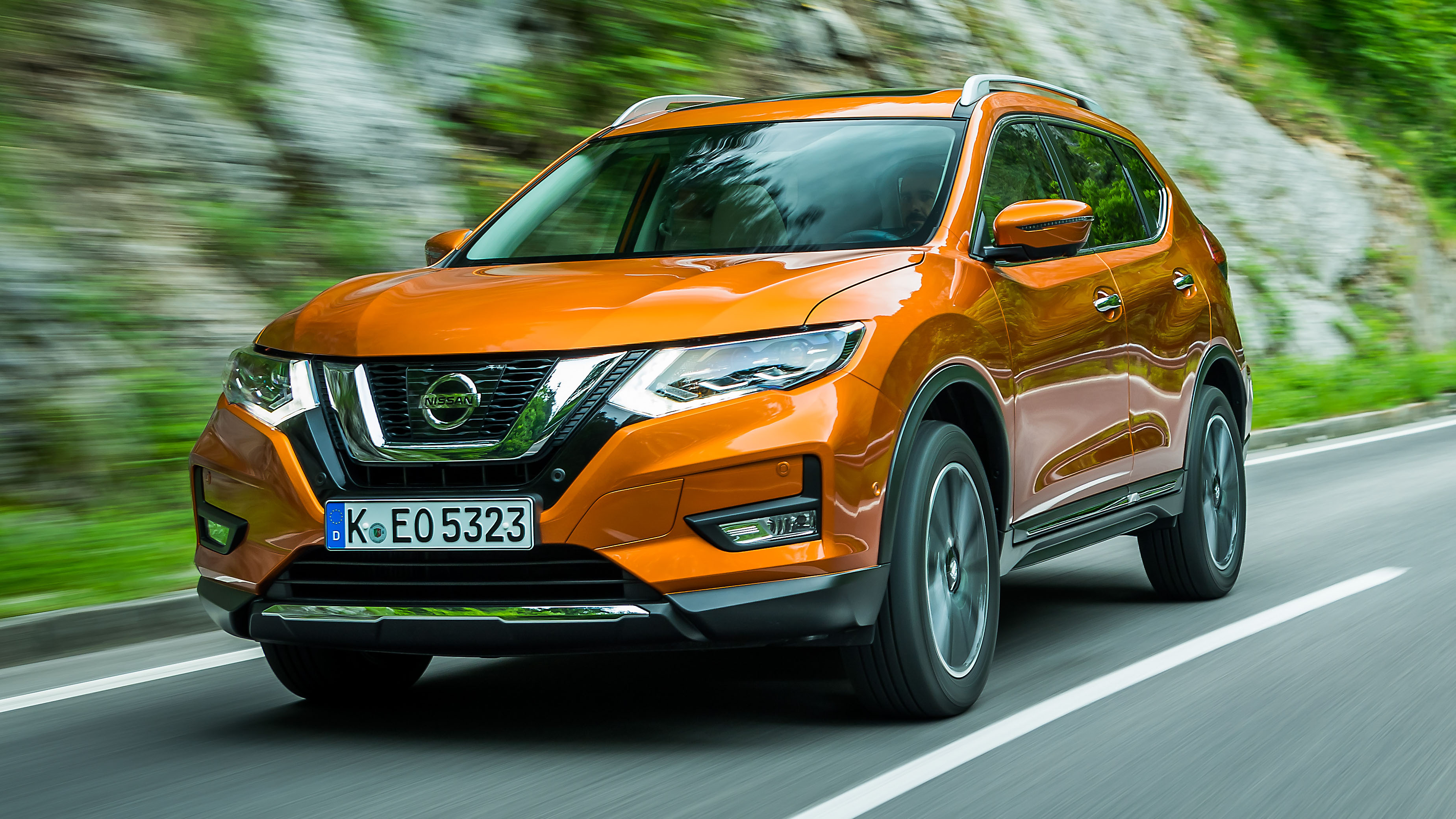 2018 nissan x trail review top gear. Black Bedroom Furniture Sets. Home Design Ideas