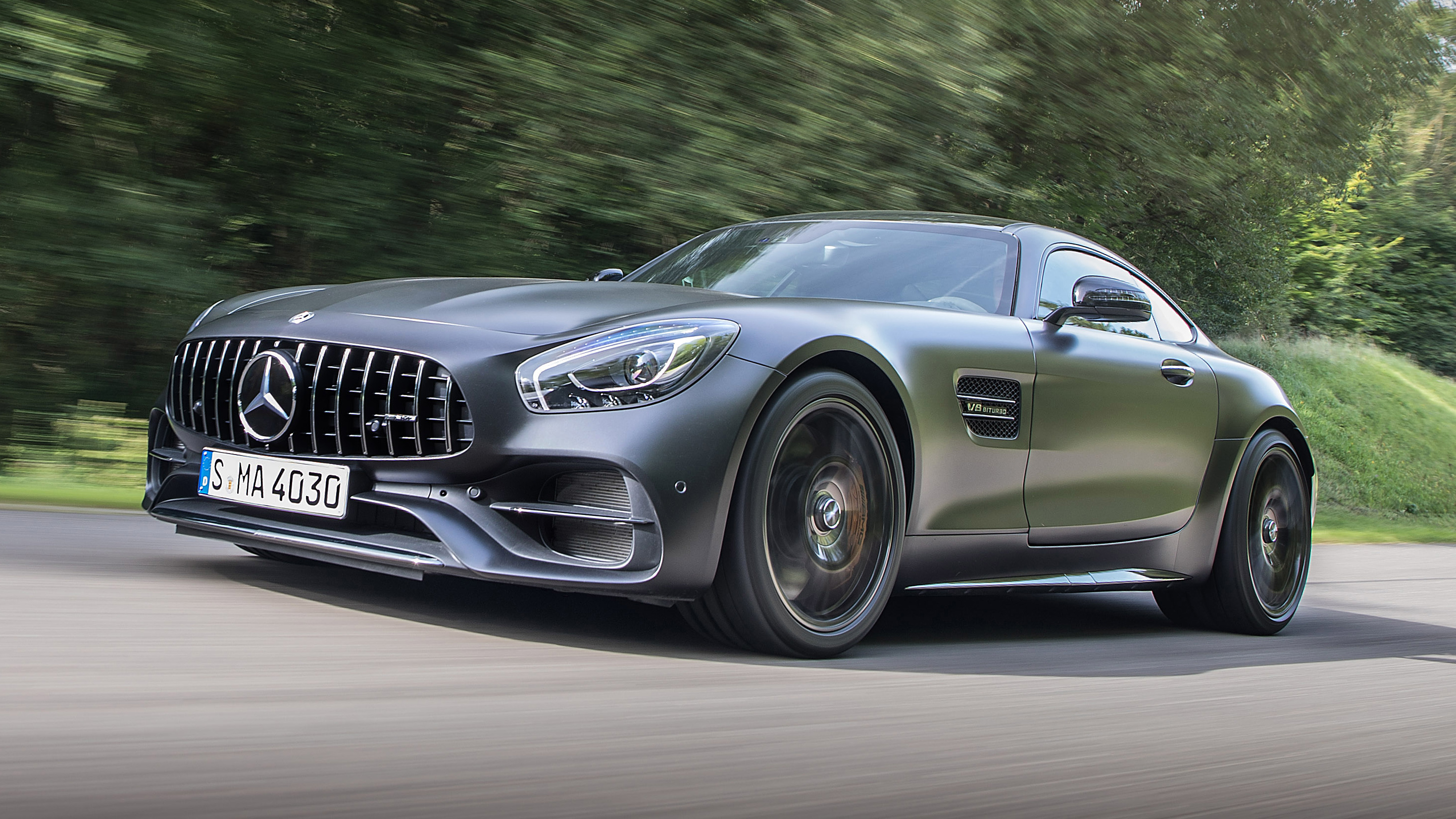 Mercedes Benz AMG GT Front Three Quarters