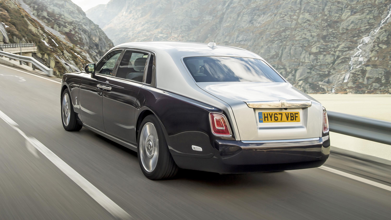 Rolls-Royce Phantom rear