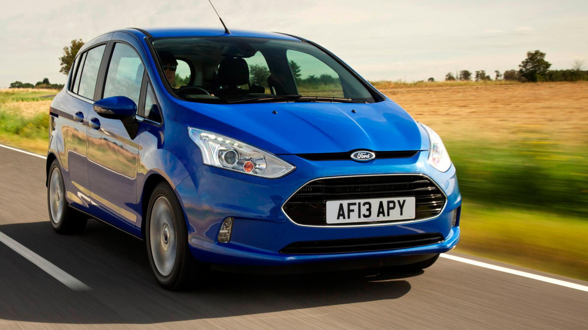 Ford B-Max blue front
