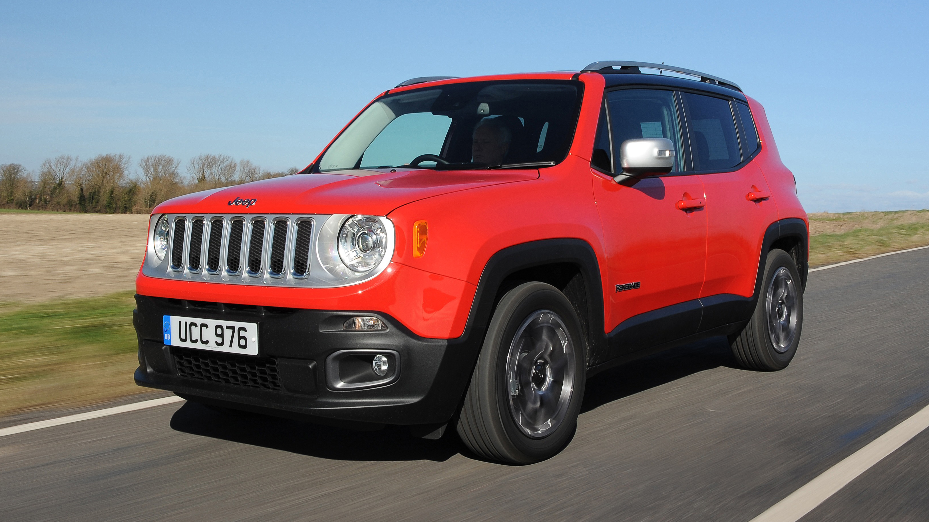 Jeep Renegade front quarter