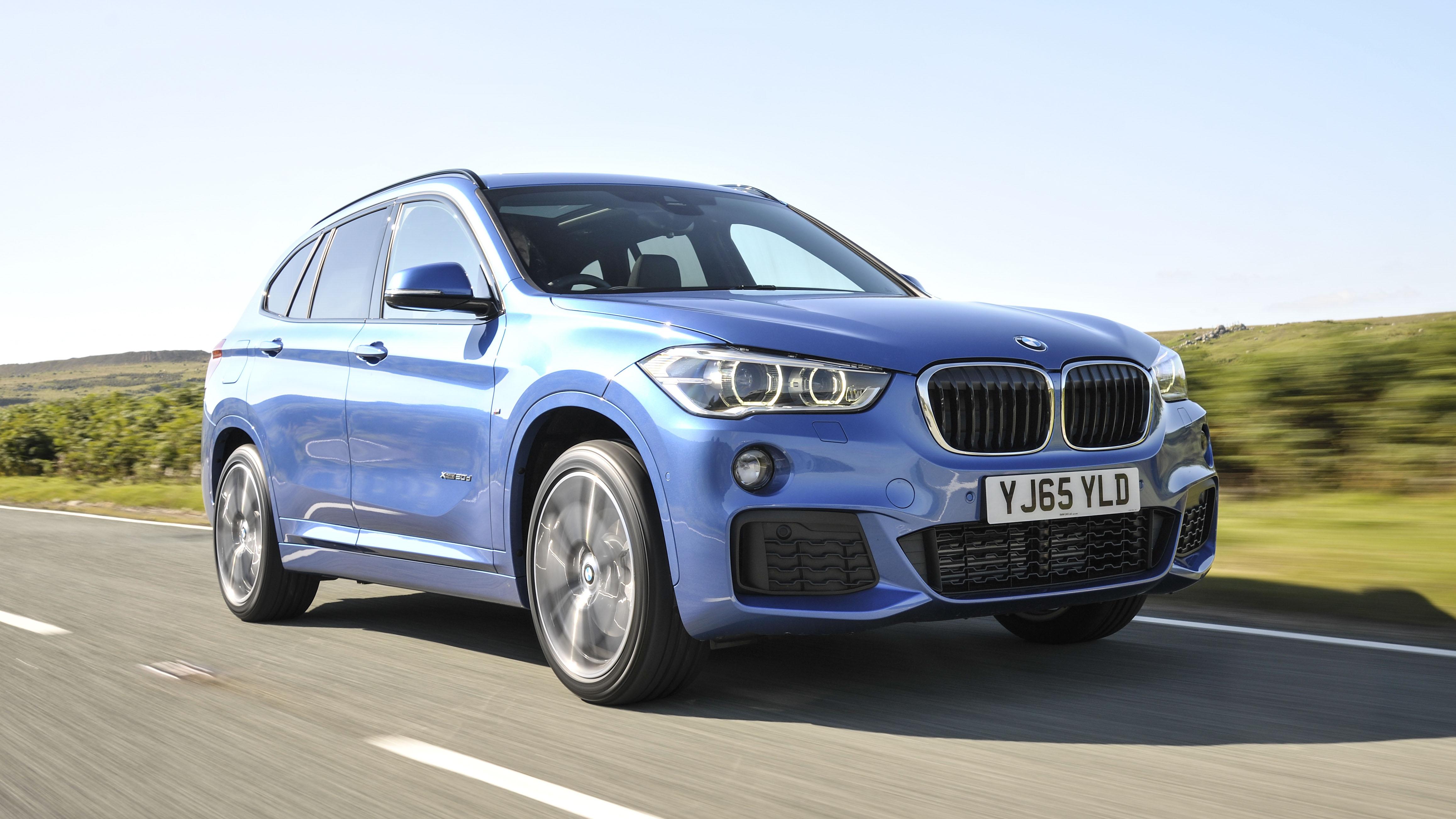BMW X1 Xdrive 20d front quarter