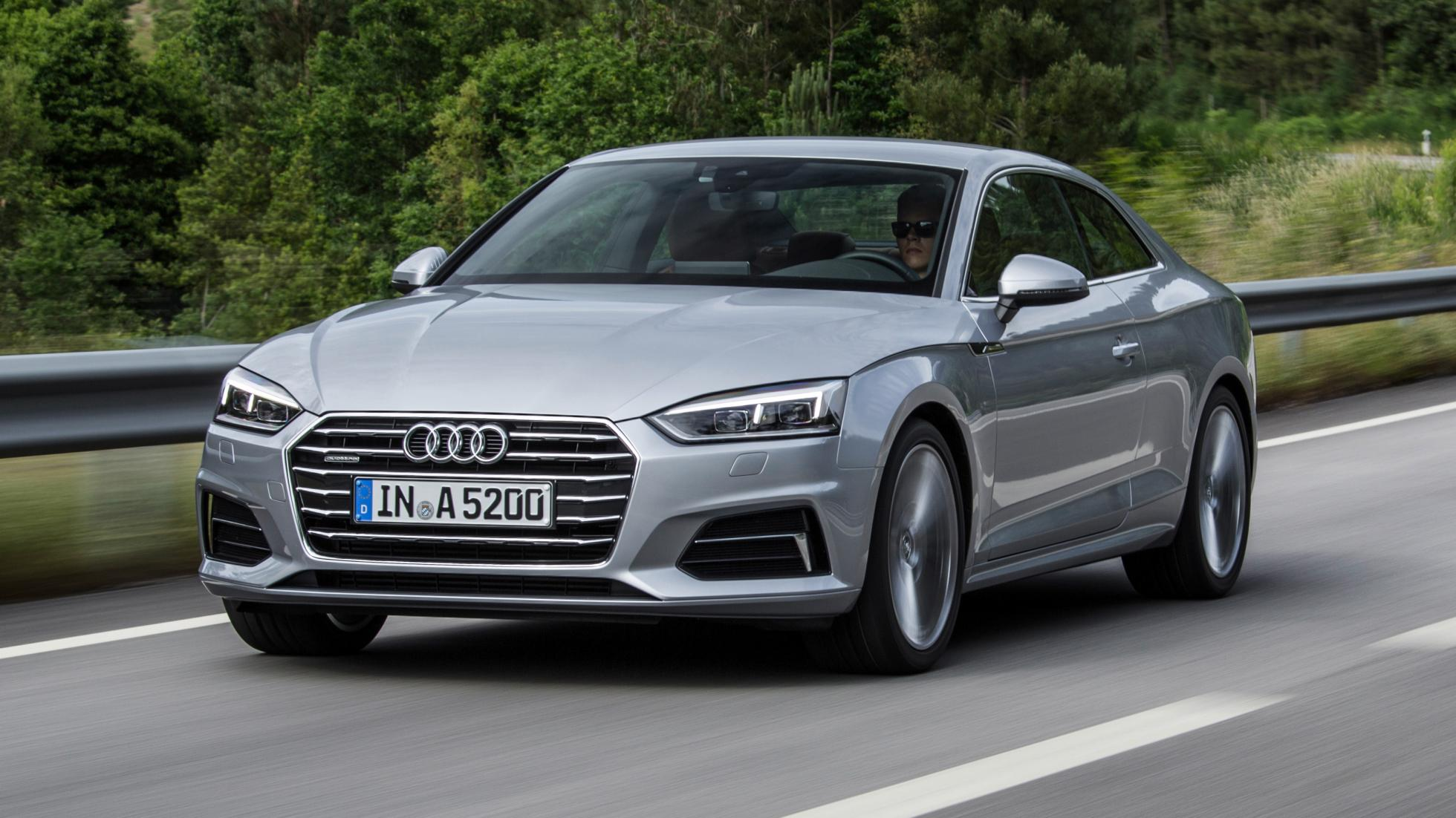 Audi A5 silver front