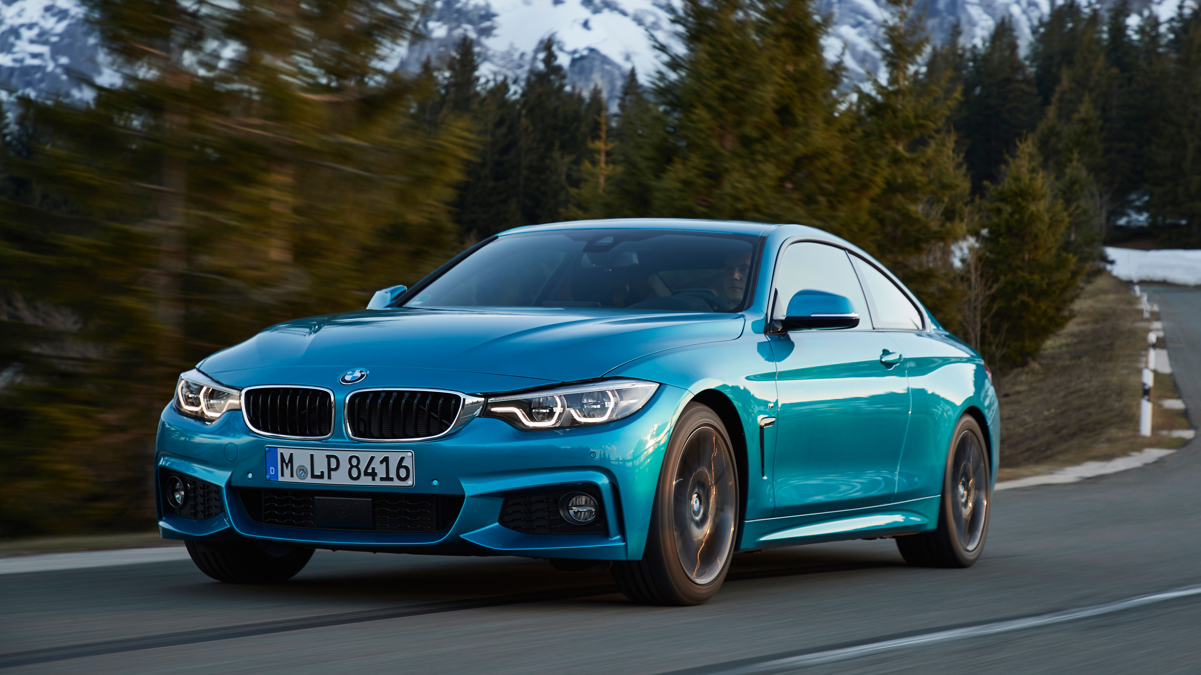 BMW 4 Series M Sport Coupe front quarter