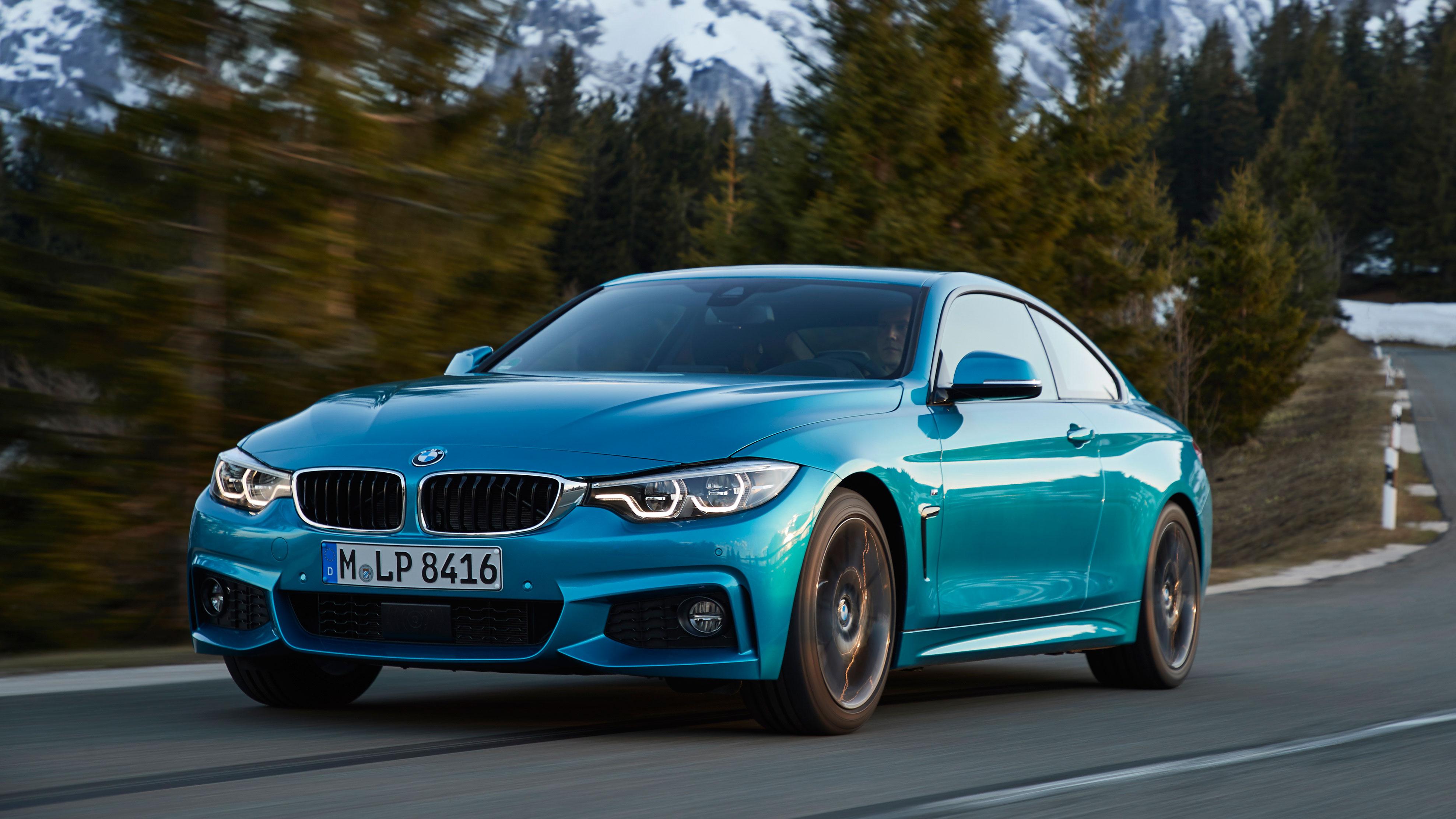 BMW 4 Series M Sport Coupe front quarter