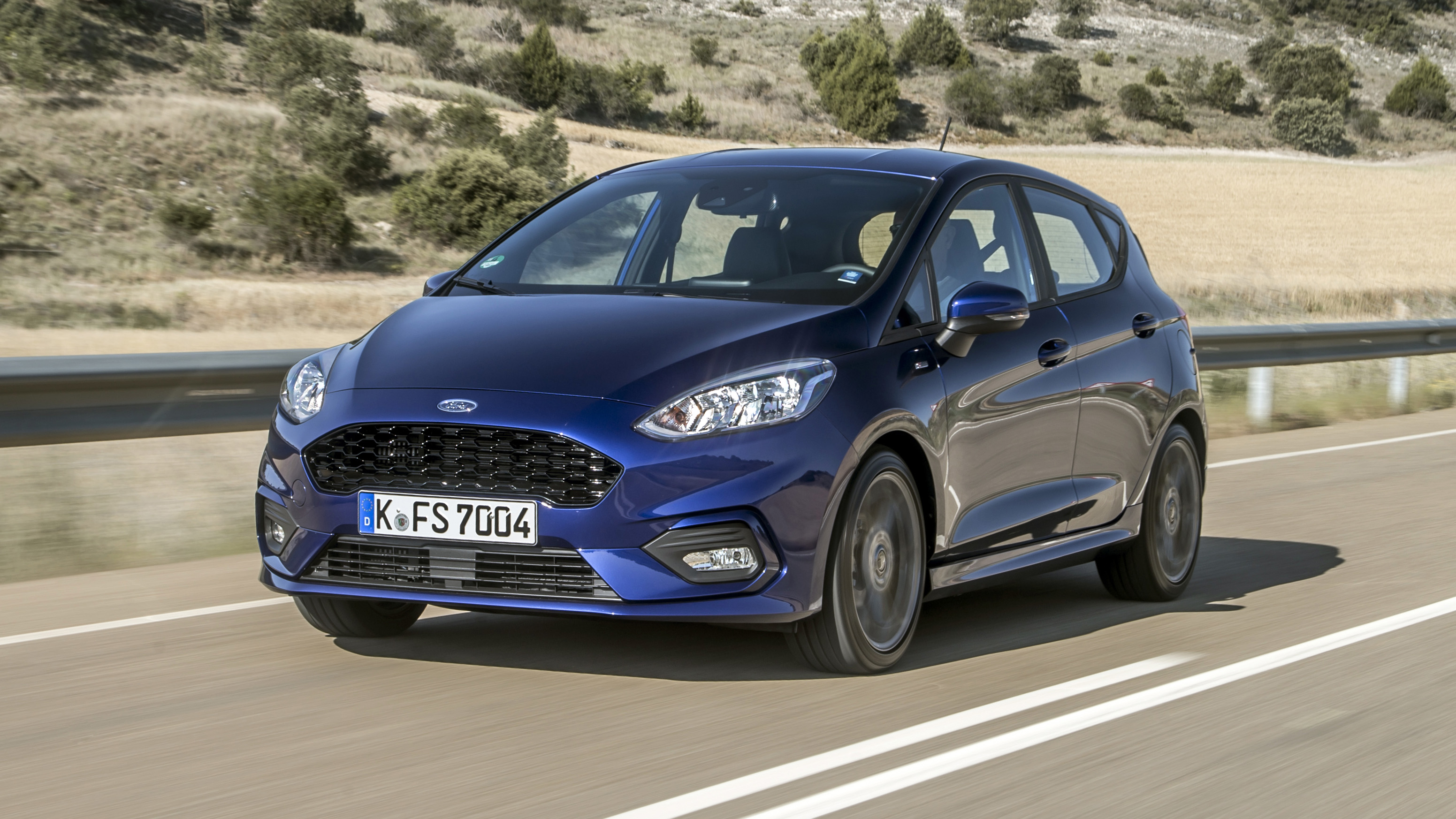 Ford Fiesta ST Line front quarter