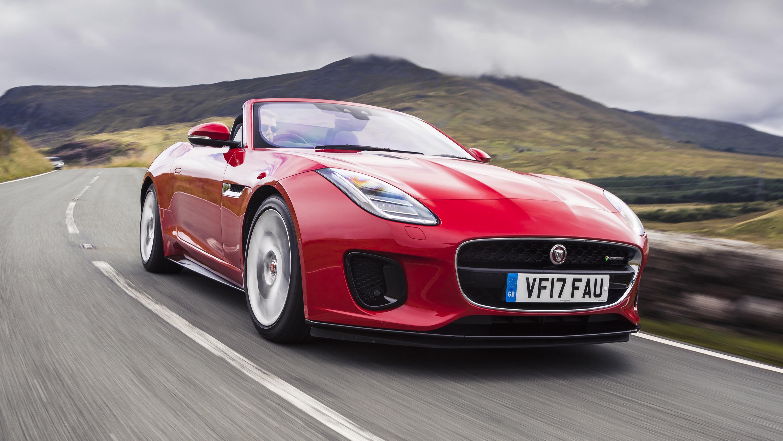 Jaguar F-Type convertible front quarter