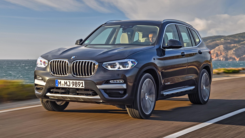 BMW X3 front quarter