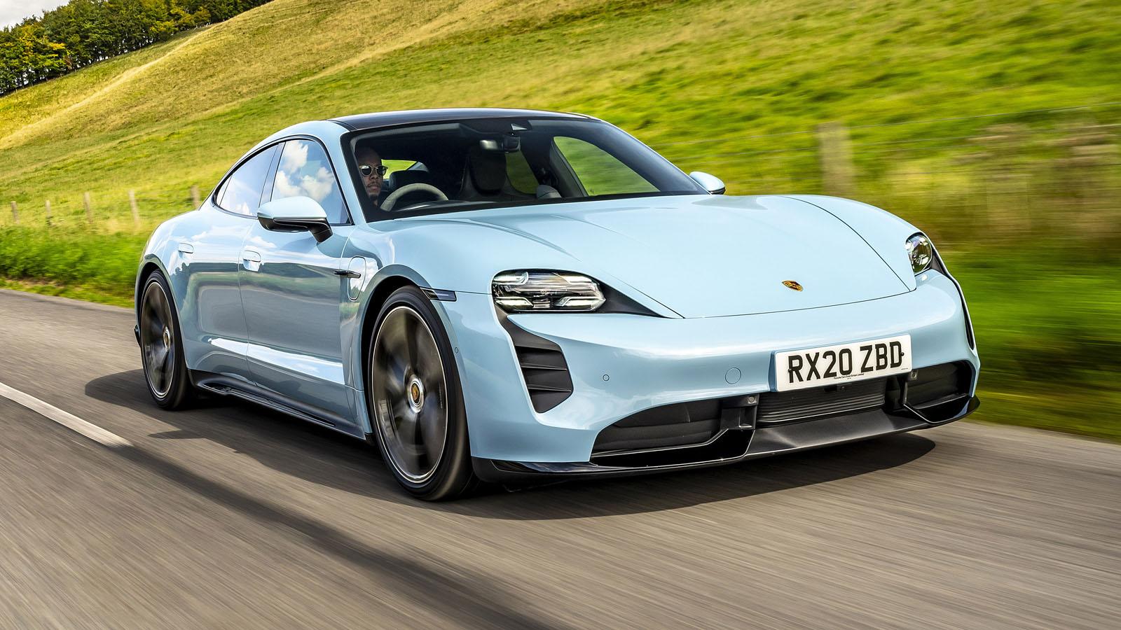 Porsche Taycan Review 2021 | Top Gear
