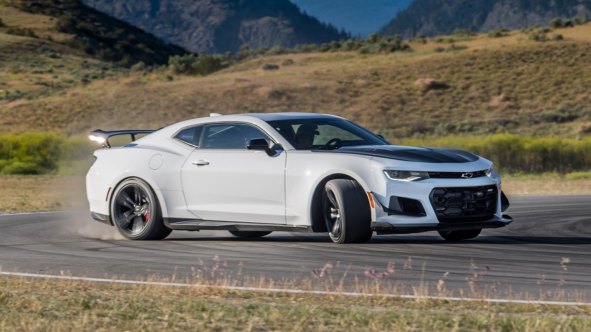 The Chevy Camaro Zl1 1le Now Gets A Ten Speed Gearbox Top Gear