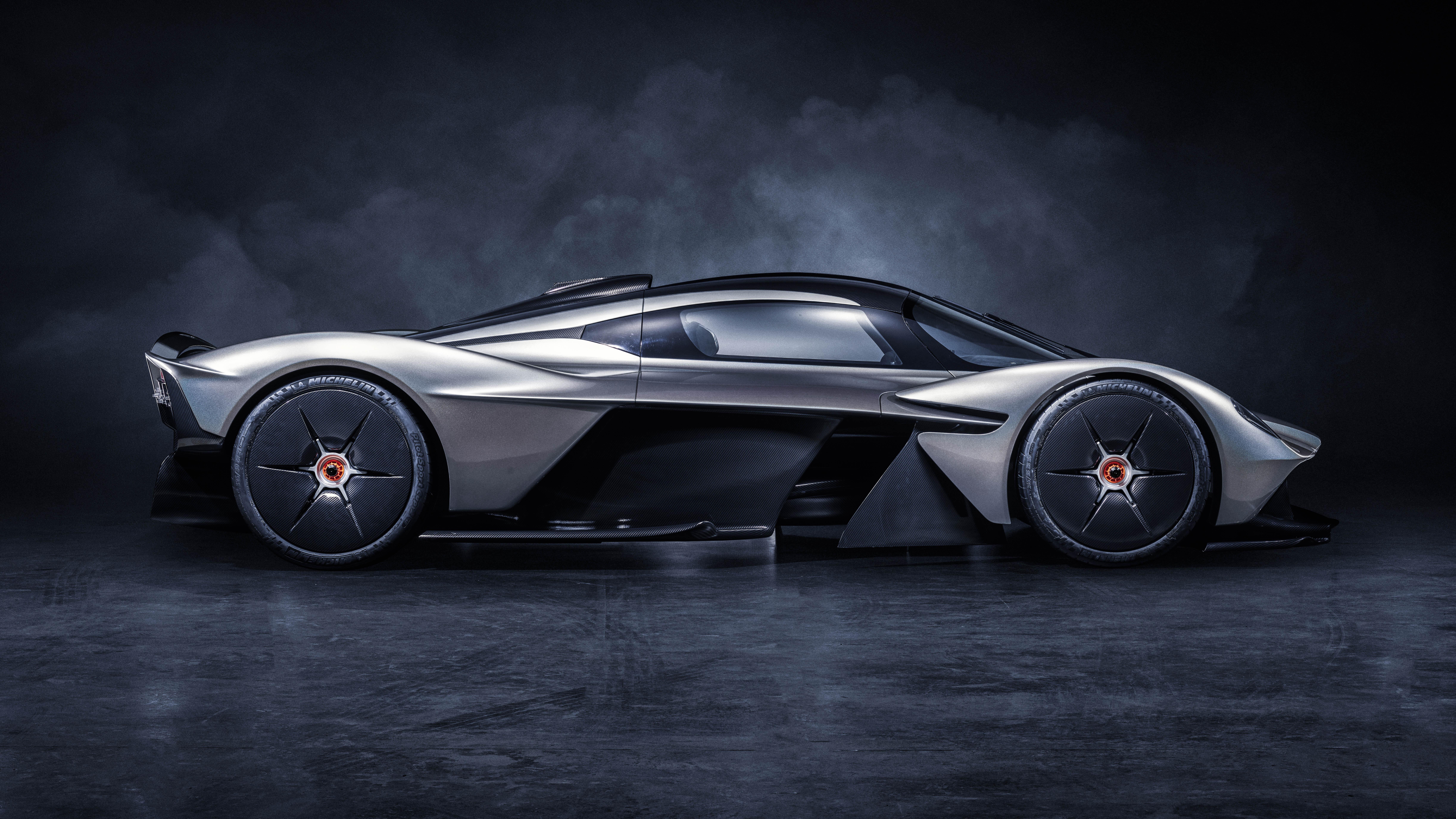 Aston Martin Valkyrie side